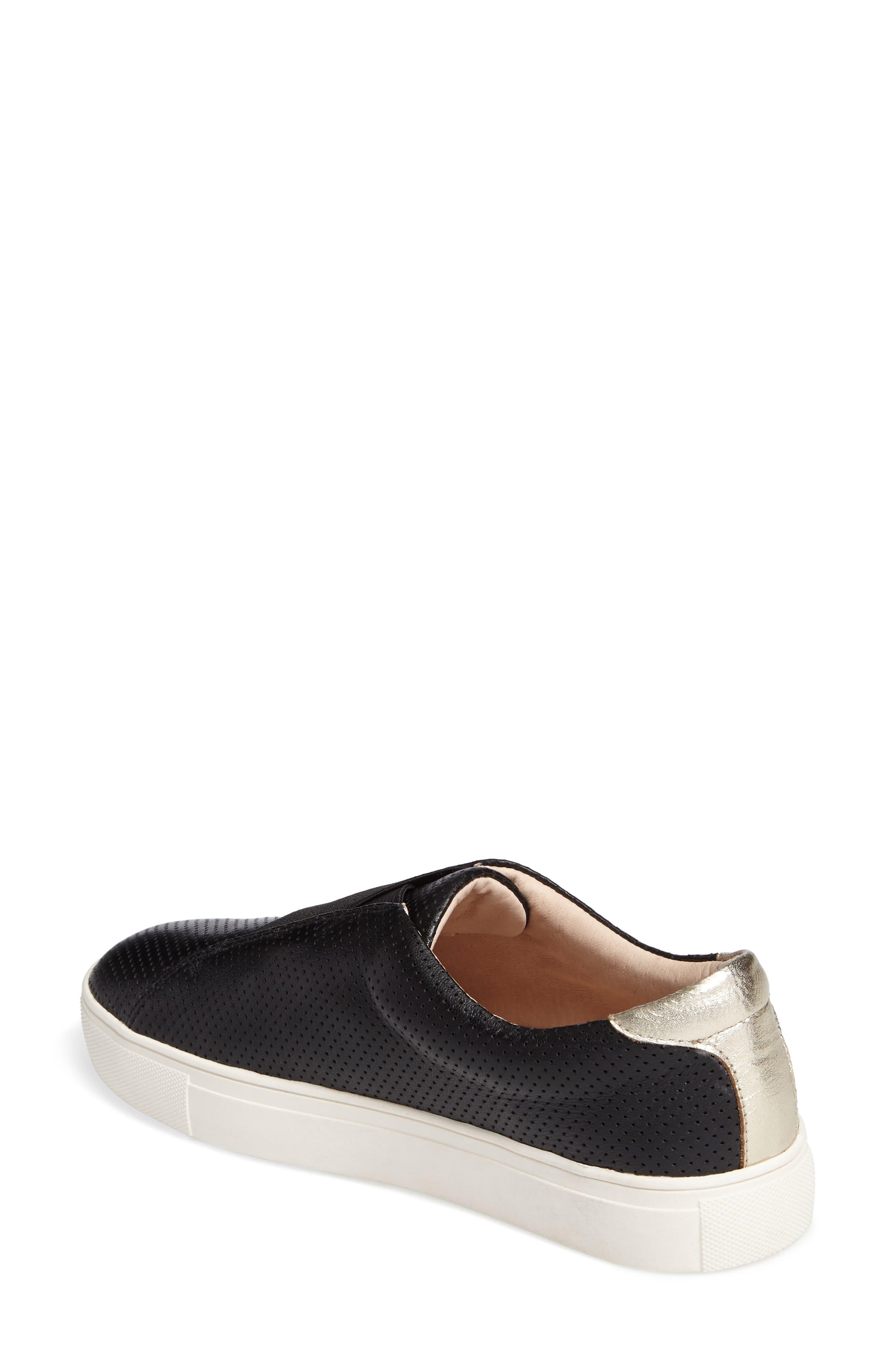 Sudina Giana Slip-On Sneaker,                             Alternate thumbnail 2, color,                             001