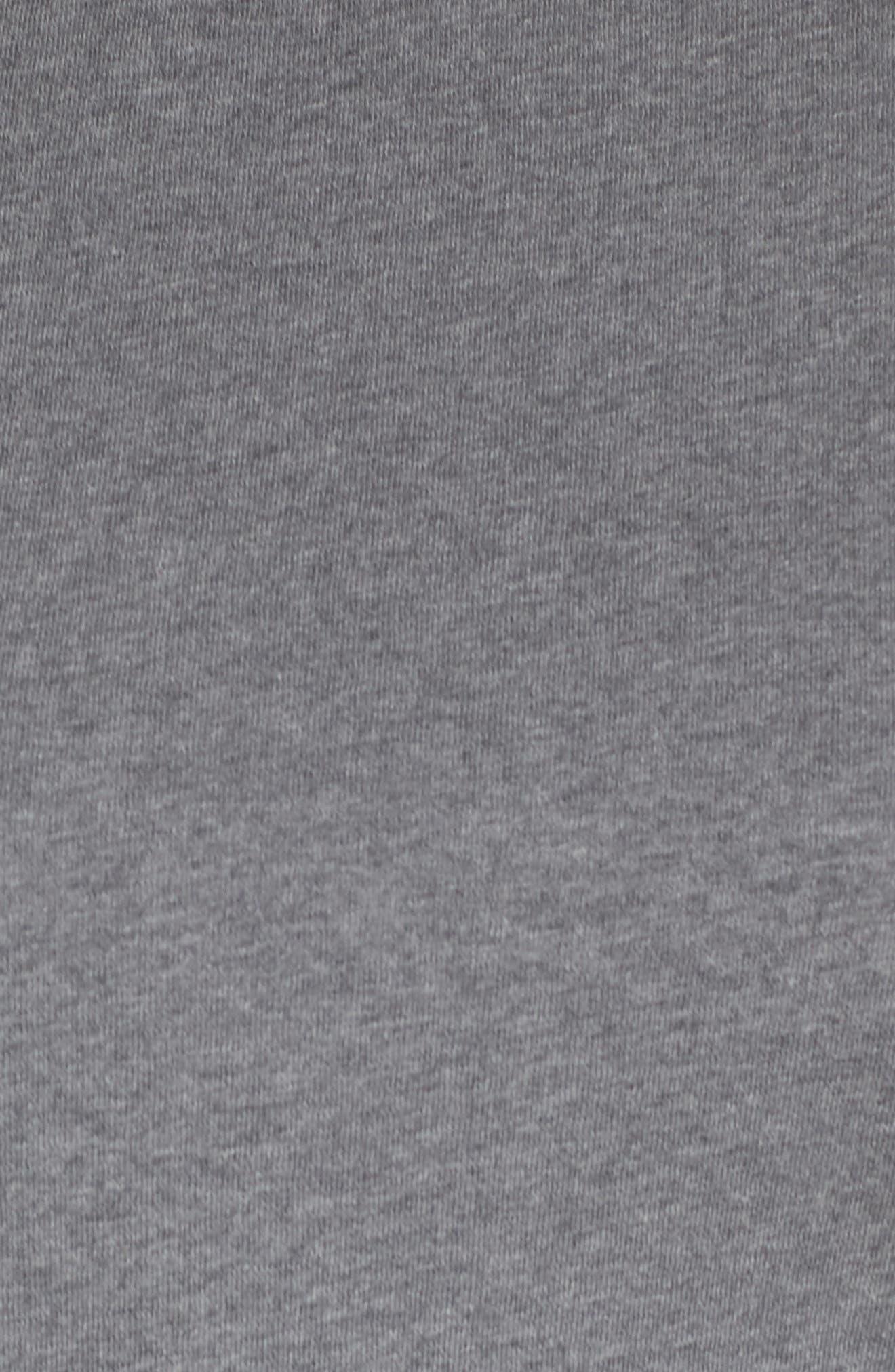 Side Tie Cotton Tunic Top,                             Alternate thumbnail 6, color,                             030