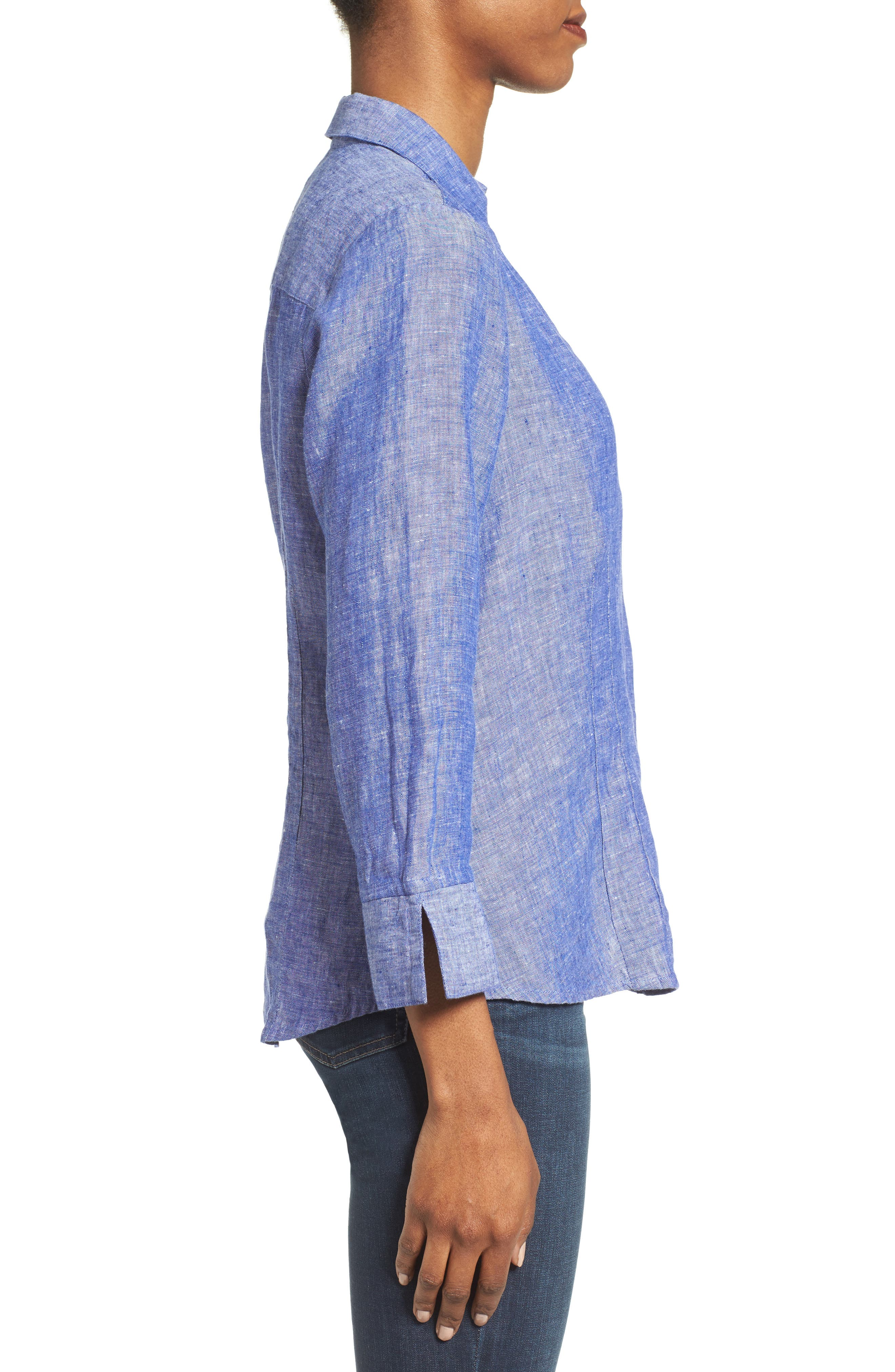 Linen Chambray Shirt,                             Alternate thumbnail 20, color,