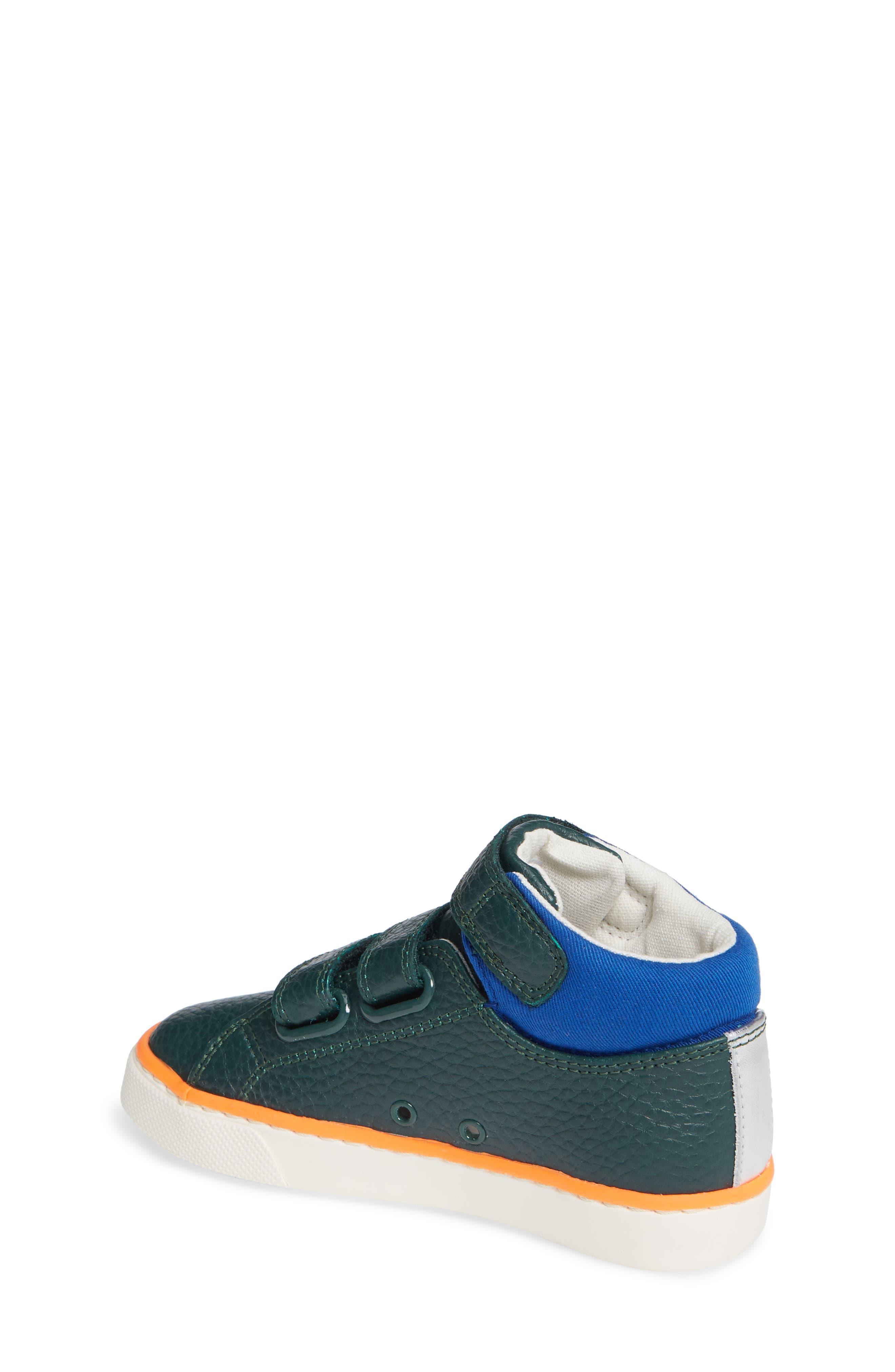 High Top Sneaker,                             Alternate thumbnail 2, color,                             SCOTTS PINE GREEN