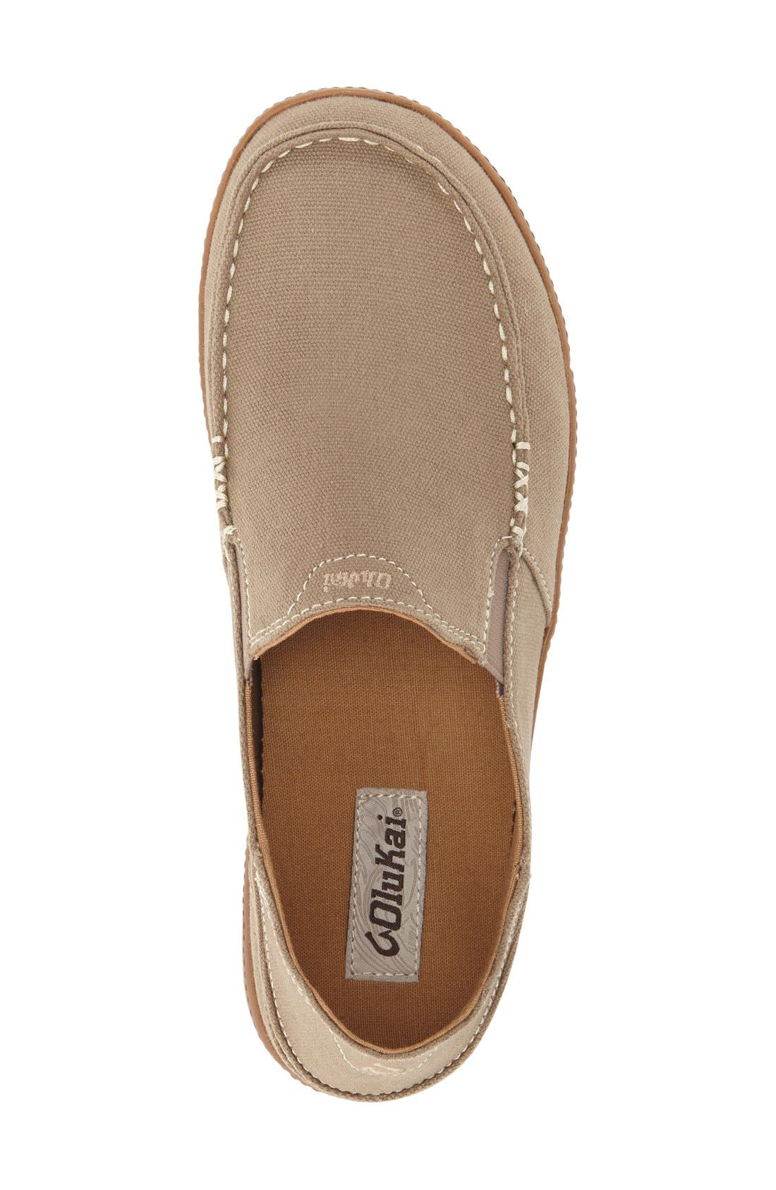 'Puhalu' Slip-On,                             Alternate thumbnail 3, color,                             CLAY/ TOFFEE