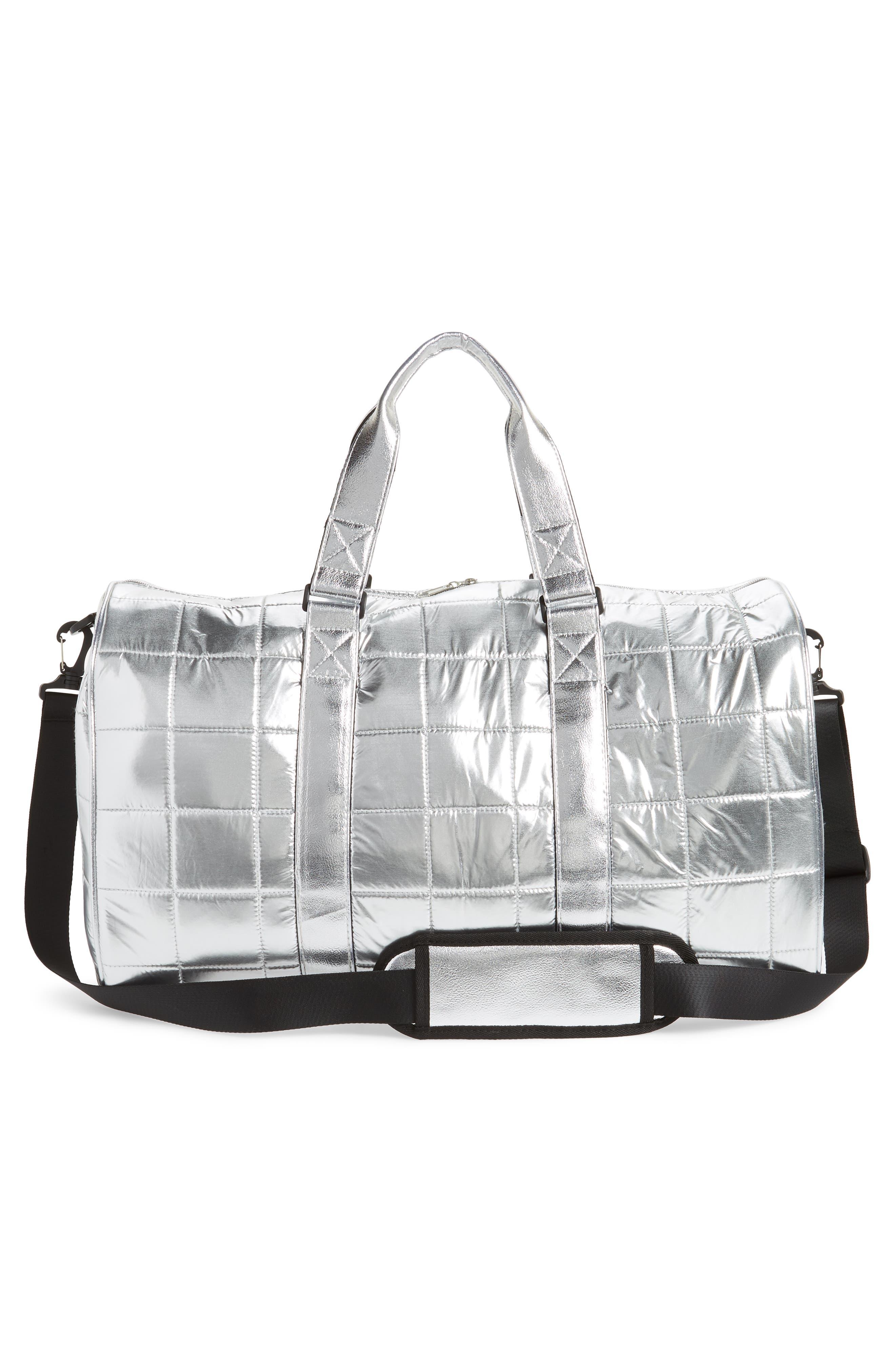 Puffer Duffel Bag,                             Alternate thumbnail 6, color,