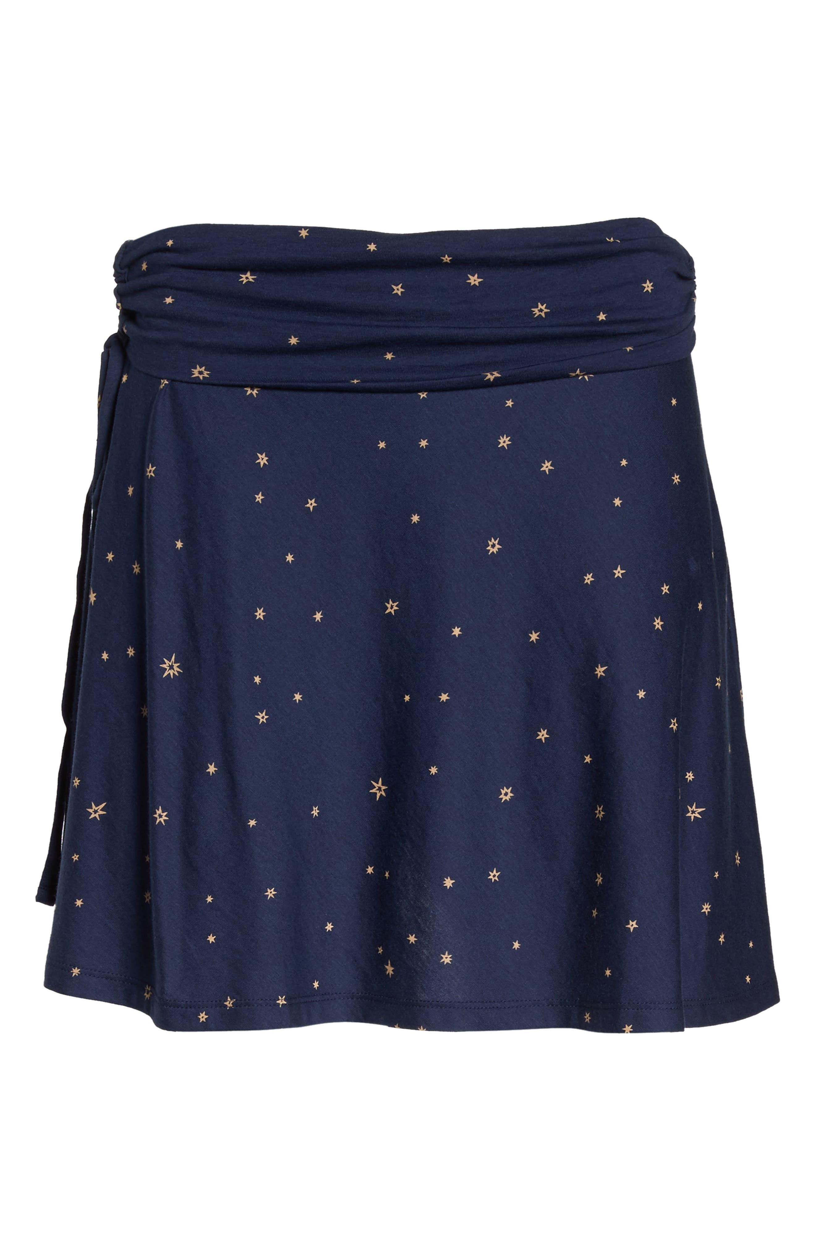 Lithia Cotton Blend Skirt,                             Alternate thumbnail 7, color,                             413