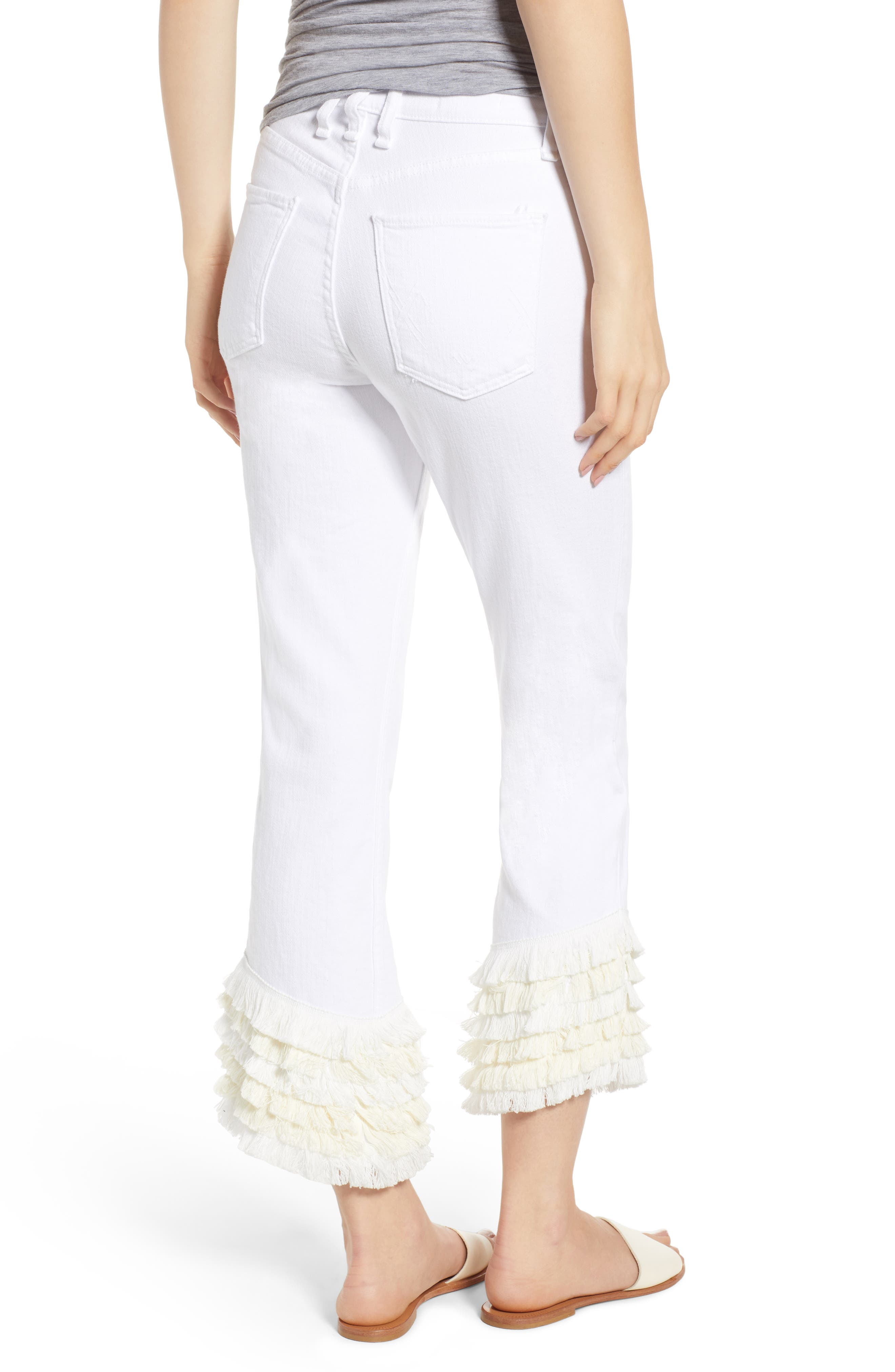 Cha Cha Flare Jeans,                             Alternate thumbnail 2, color,                             100