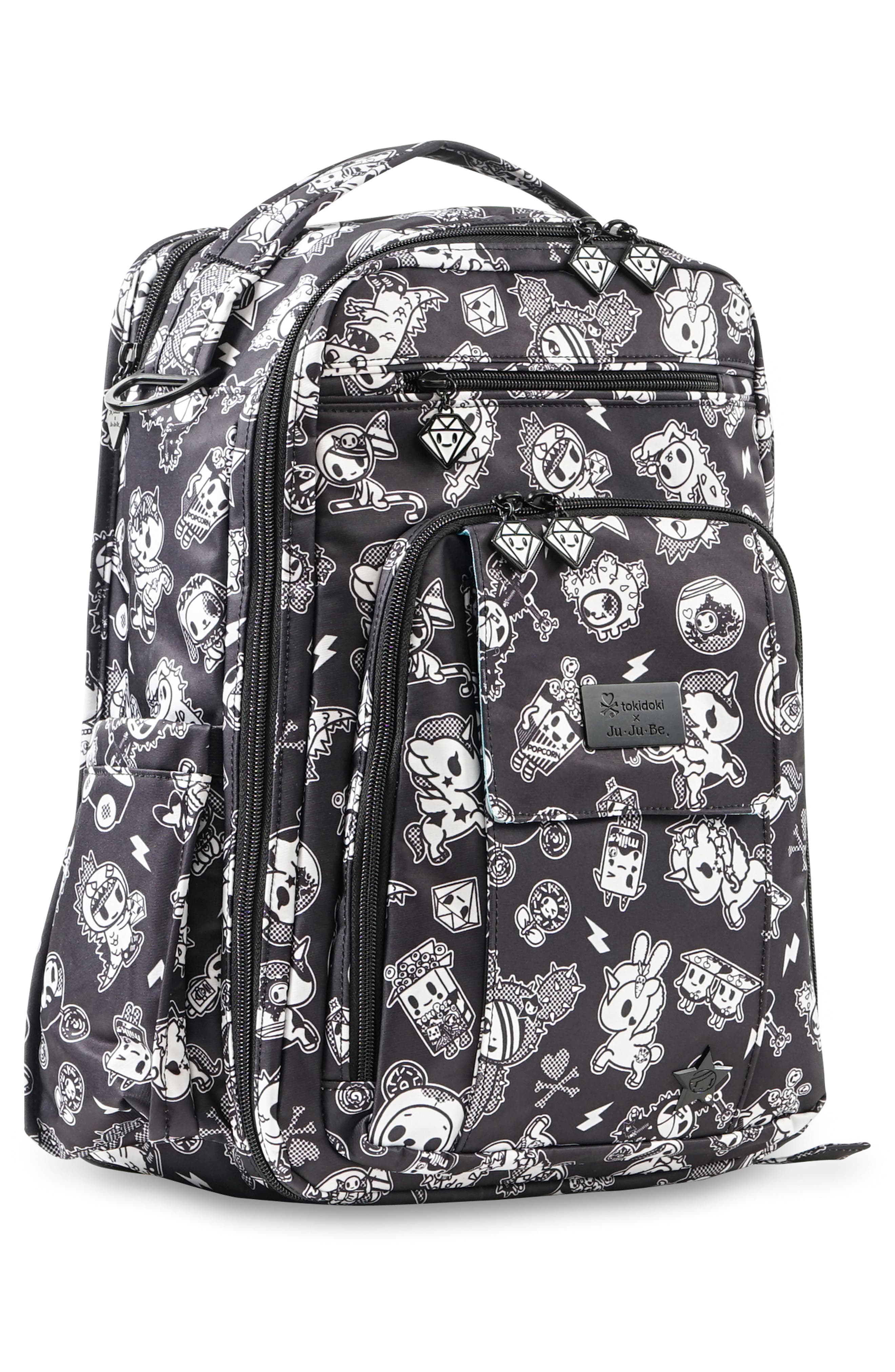 tokidoki x Ju-Ju-Be 'Be Right Back' Diaper Backpack,                             Alternate thumbnail 5, color,                             009