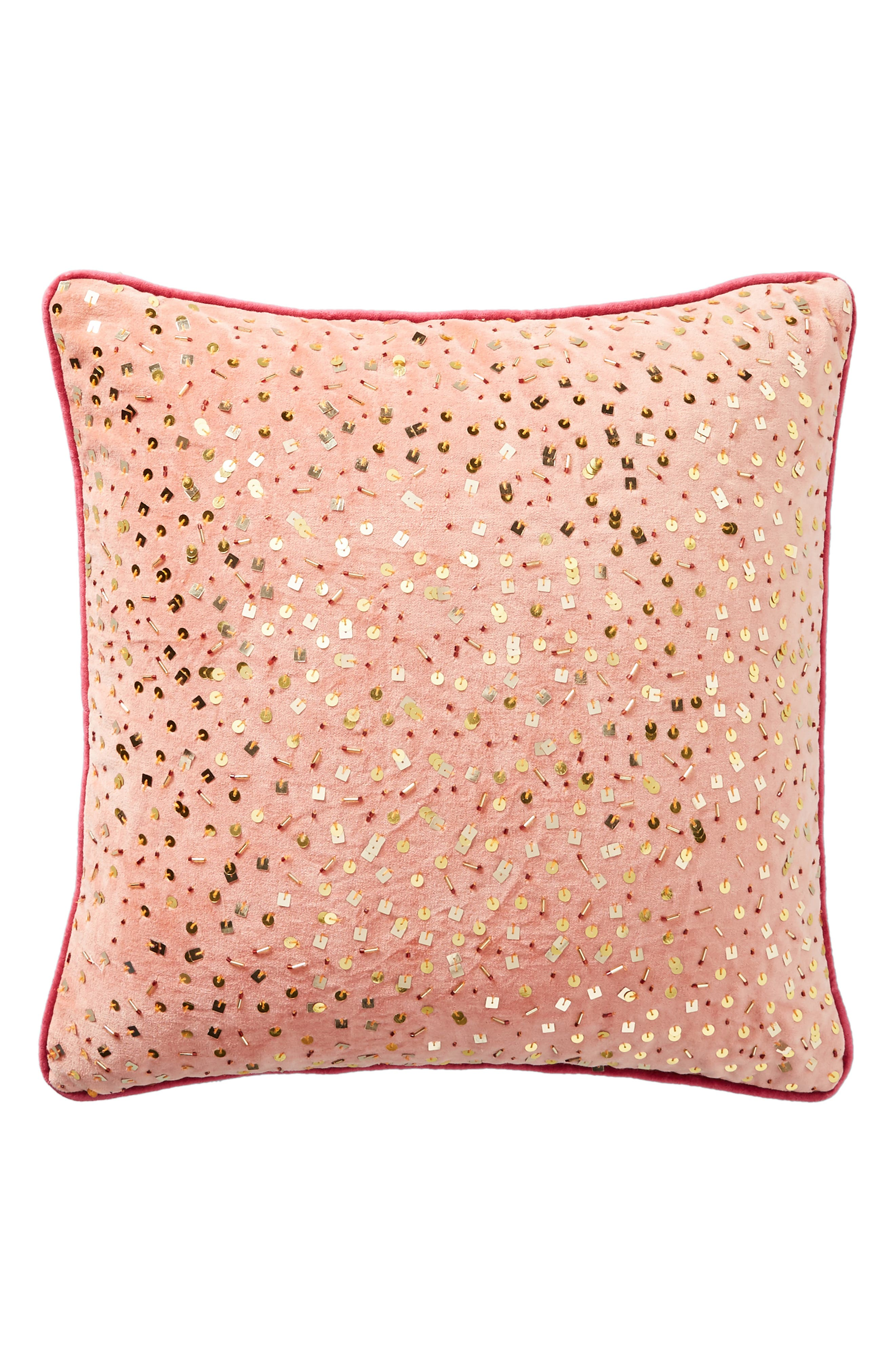 Confetti Velvet Accent Pillow,                             Alternate thumbnail 4, color,                             893