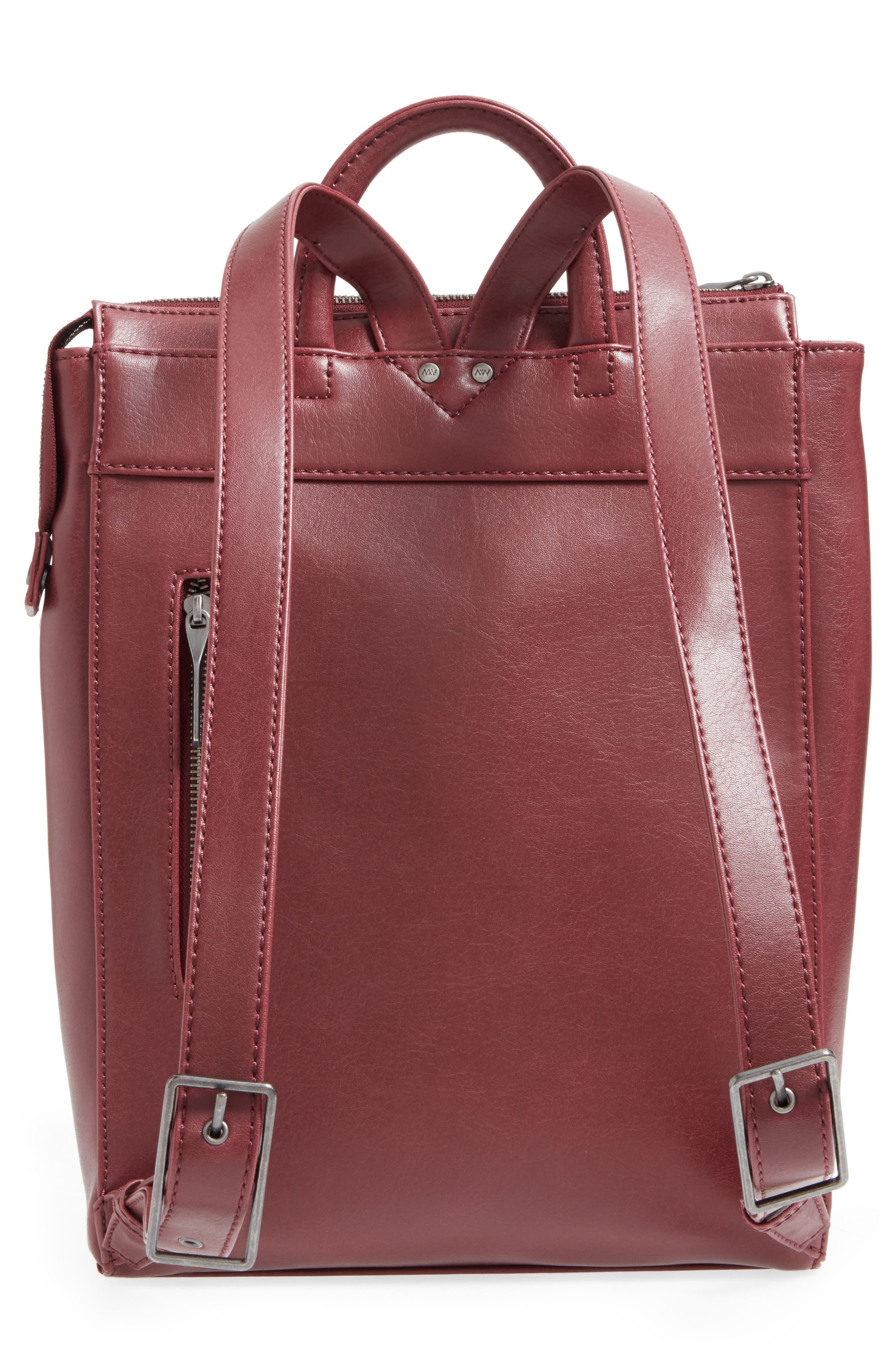 'Katherine' Faux Leather Backpack,                             Alternate thumbnail 20, color,