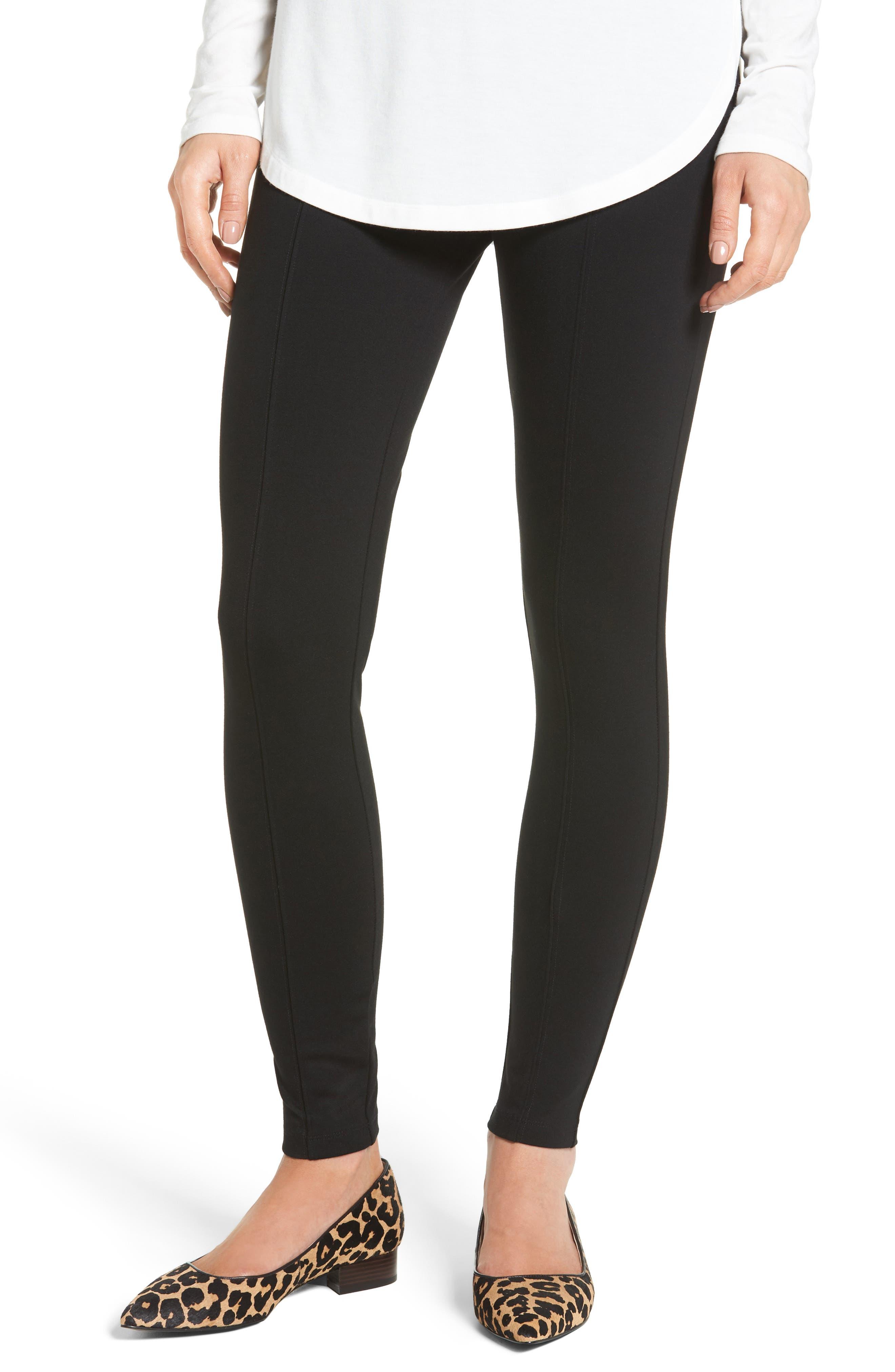 HALOGEN<SUP>®</SUP> Seamed Leggings, Main, color, 001