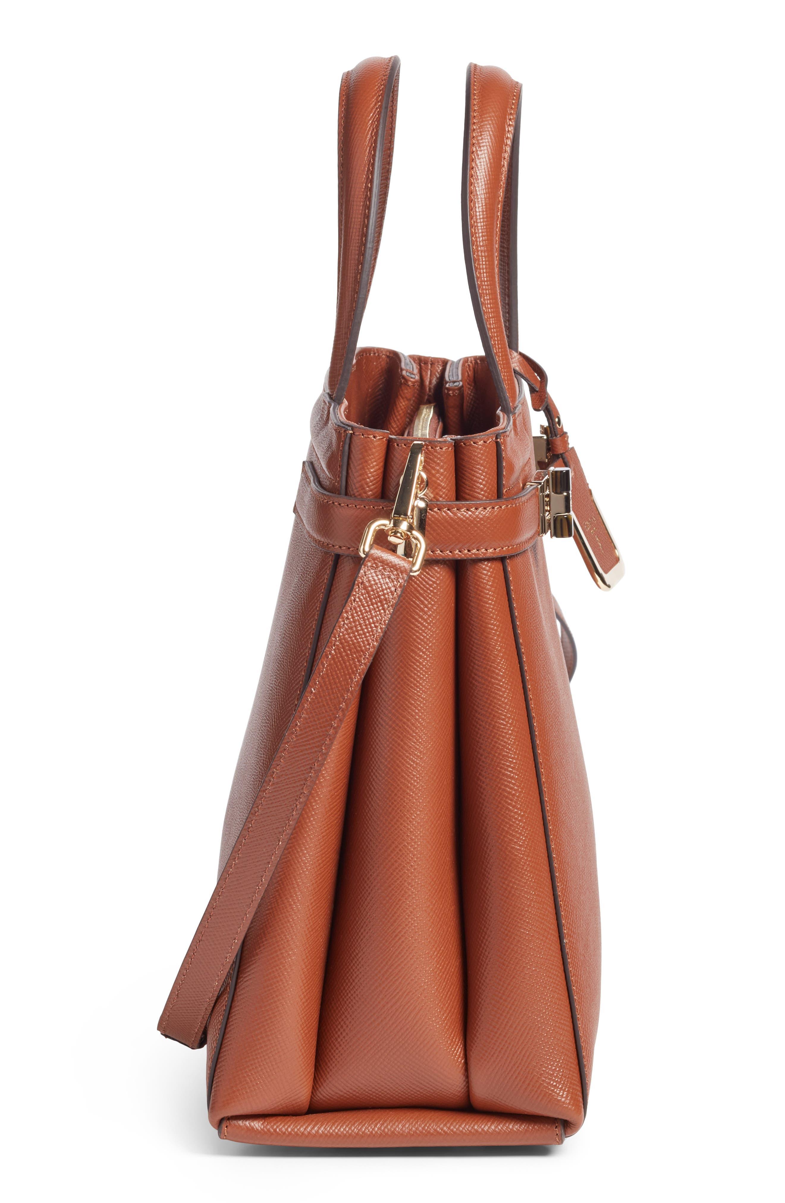 Small Meline Evolution Leather Bag,                             Alternate thumbnail 19, color,