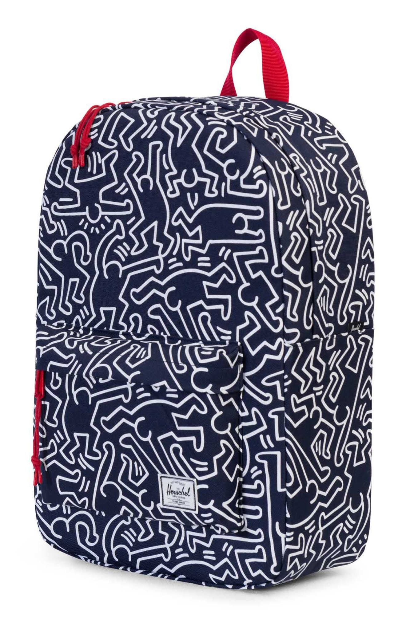 Winlaw x Keith Haring Backpack,                             Alternate thumbnail 8, color,