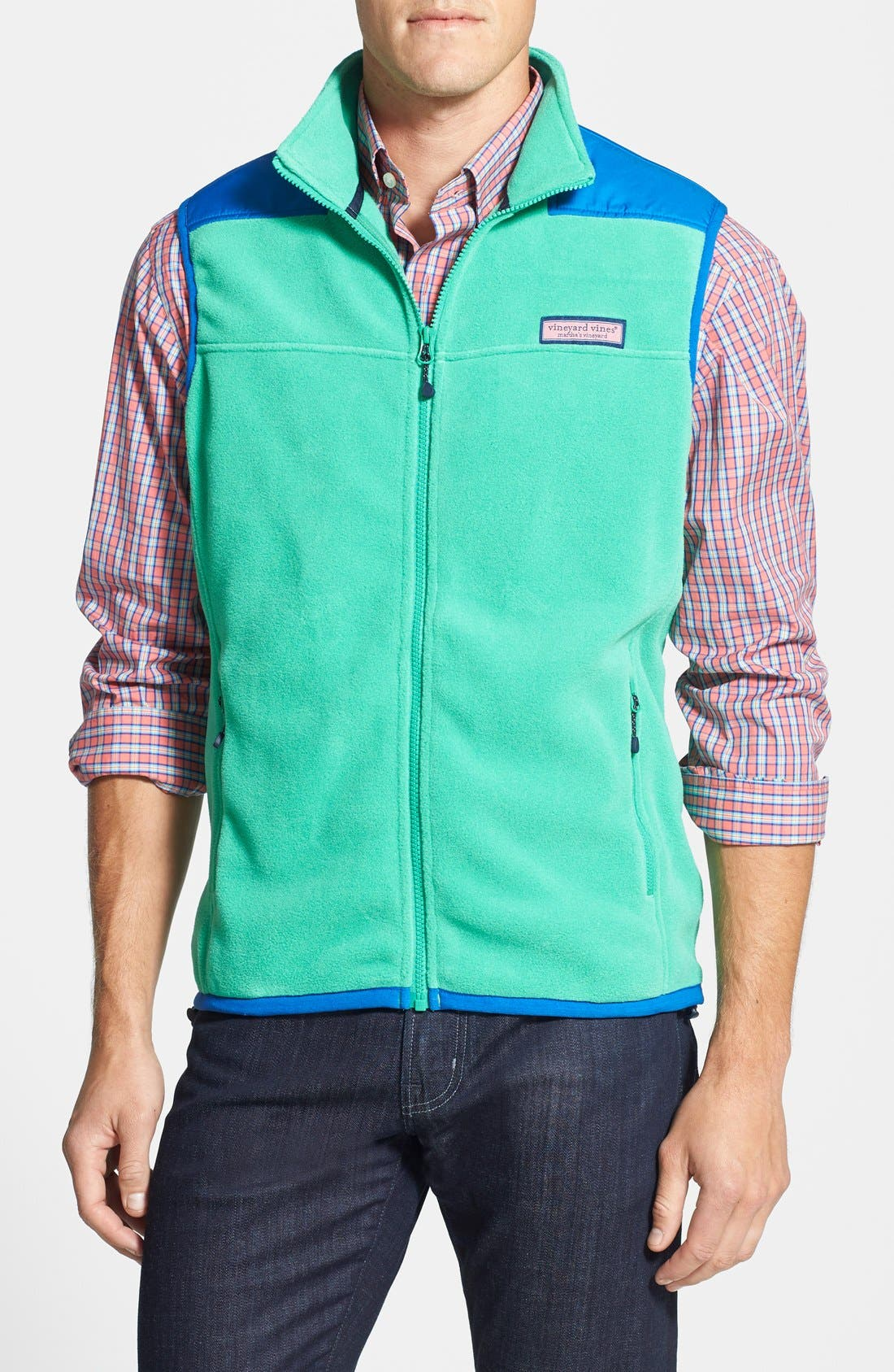 'Shep' Fleece Zip Vest,                             Main thumbnail 2, color,