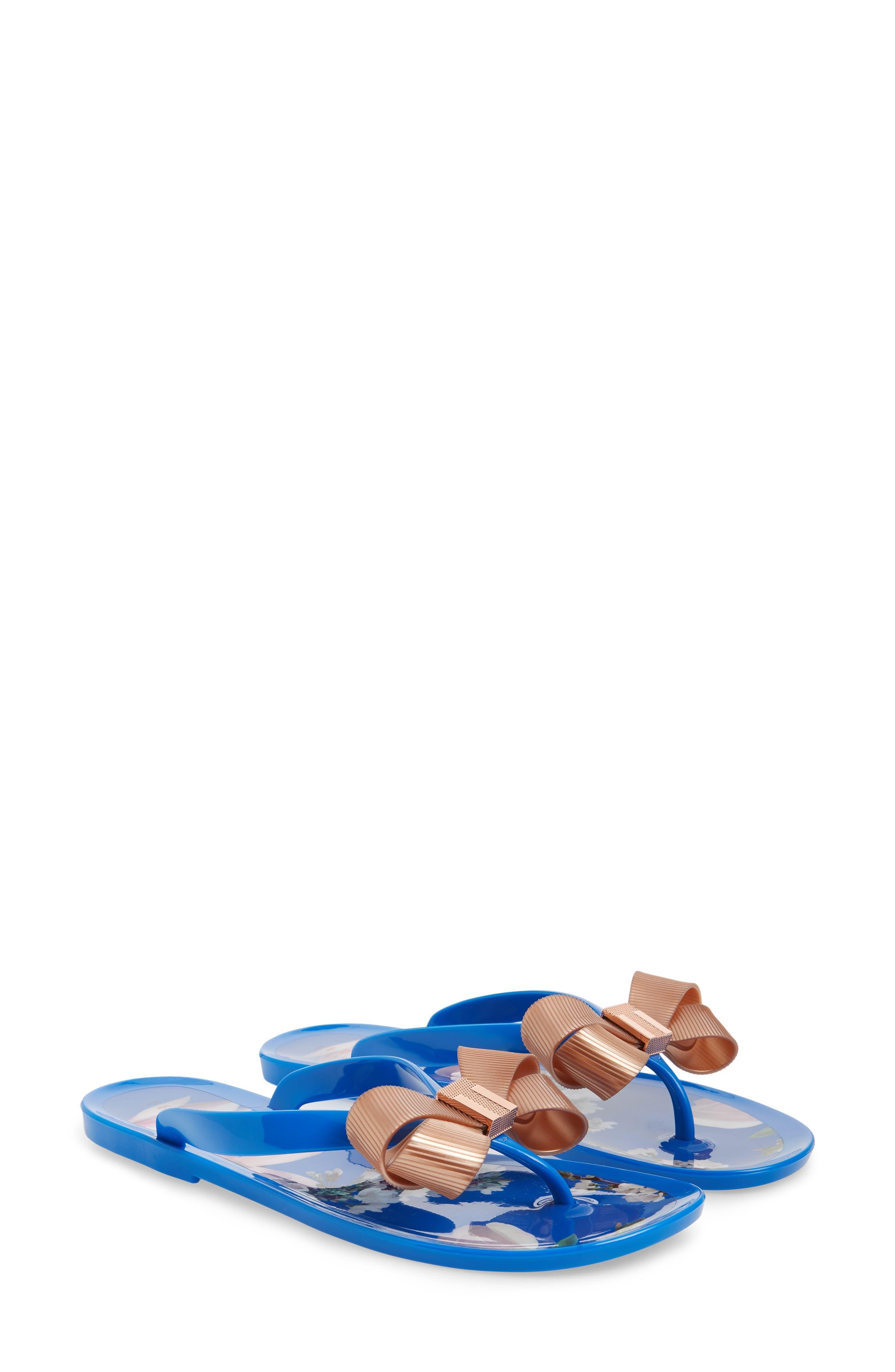 Suziep Flip Flop,                         Main,                         color, BLUE
