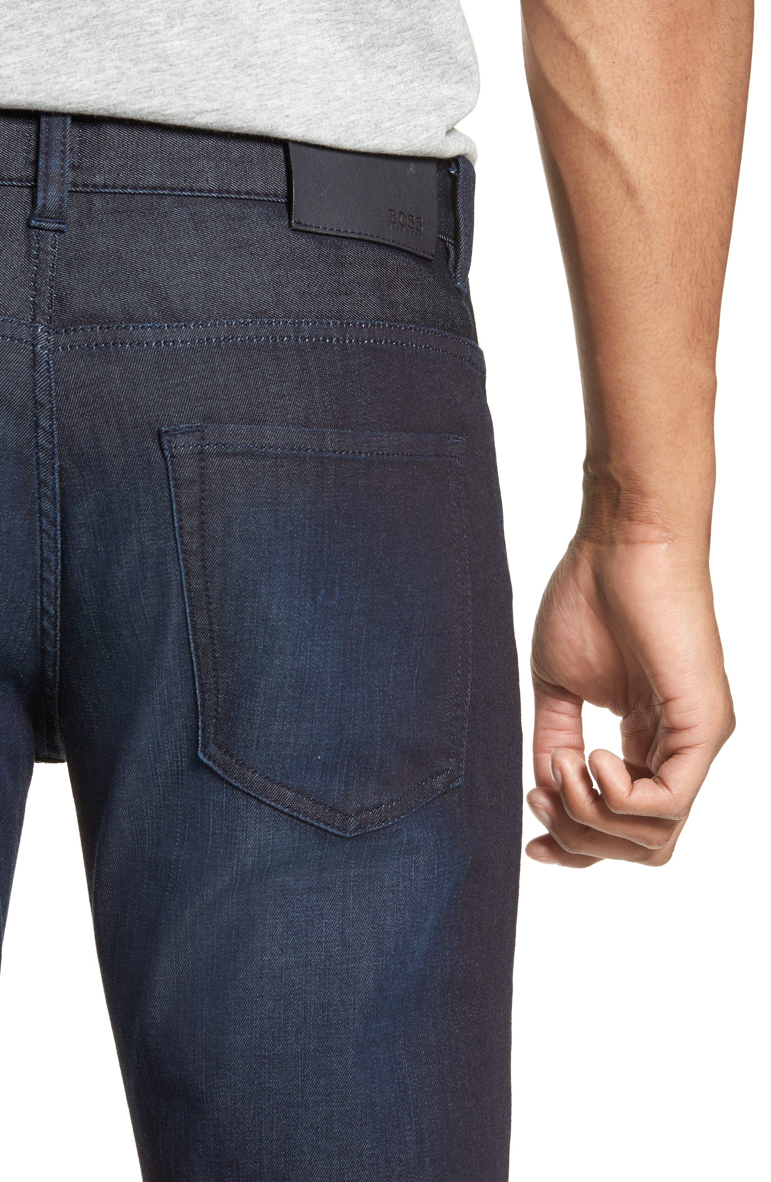 Delaware Slim Fit Jeans,                             Alternate thumbnail 4, color,
