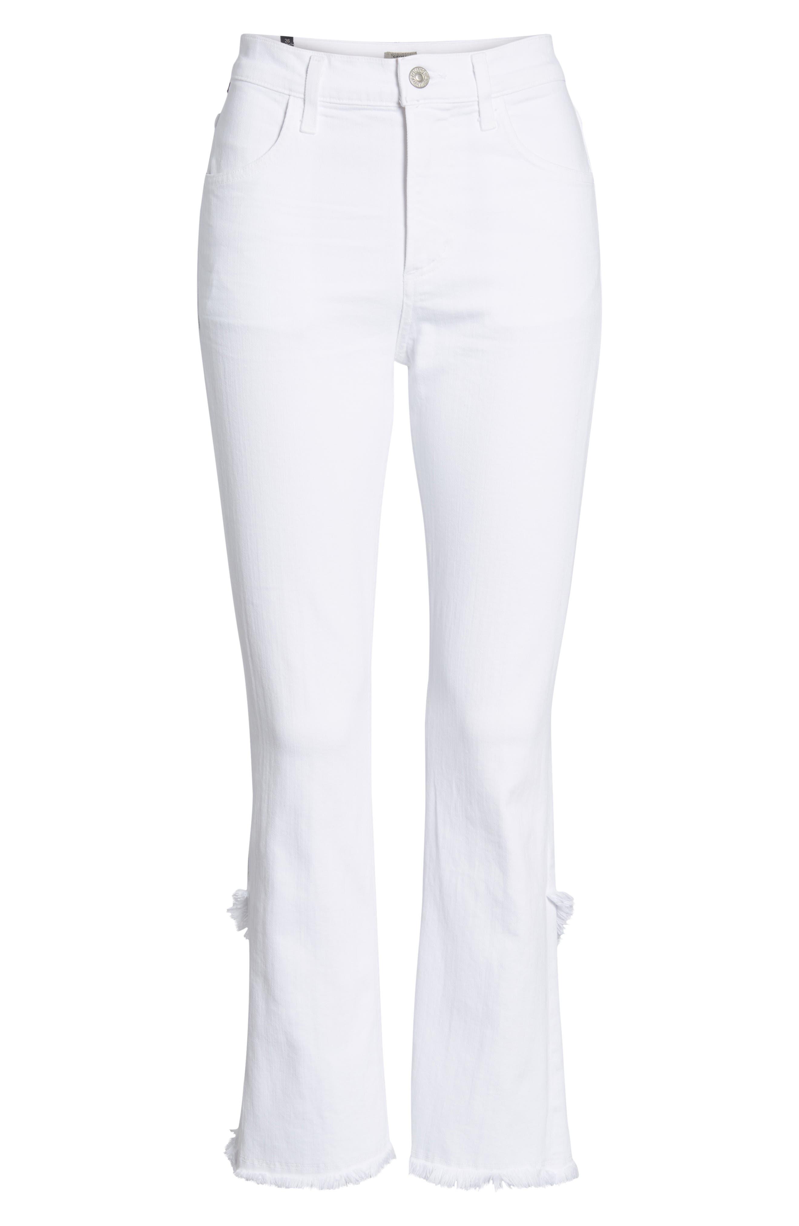 Drew Flare Jeans,                             Alternate thumbnail 7, color,                             104