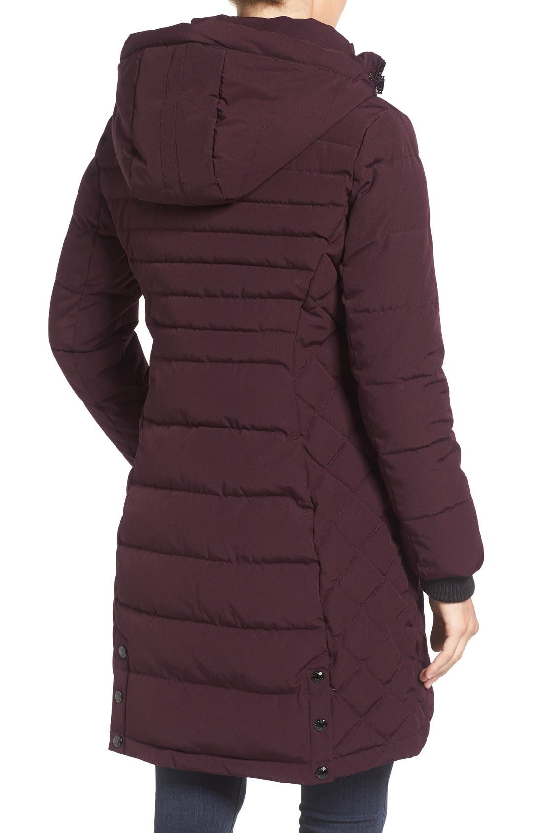 Quilted Hooded Puffer Coat,                             Alternate thumbnail 6, color,