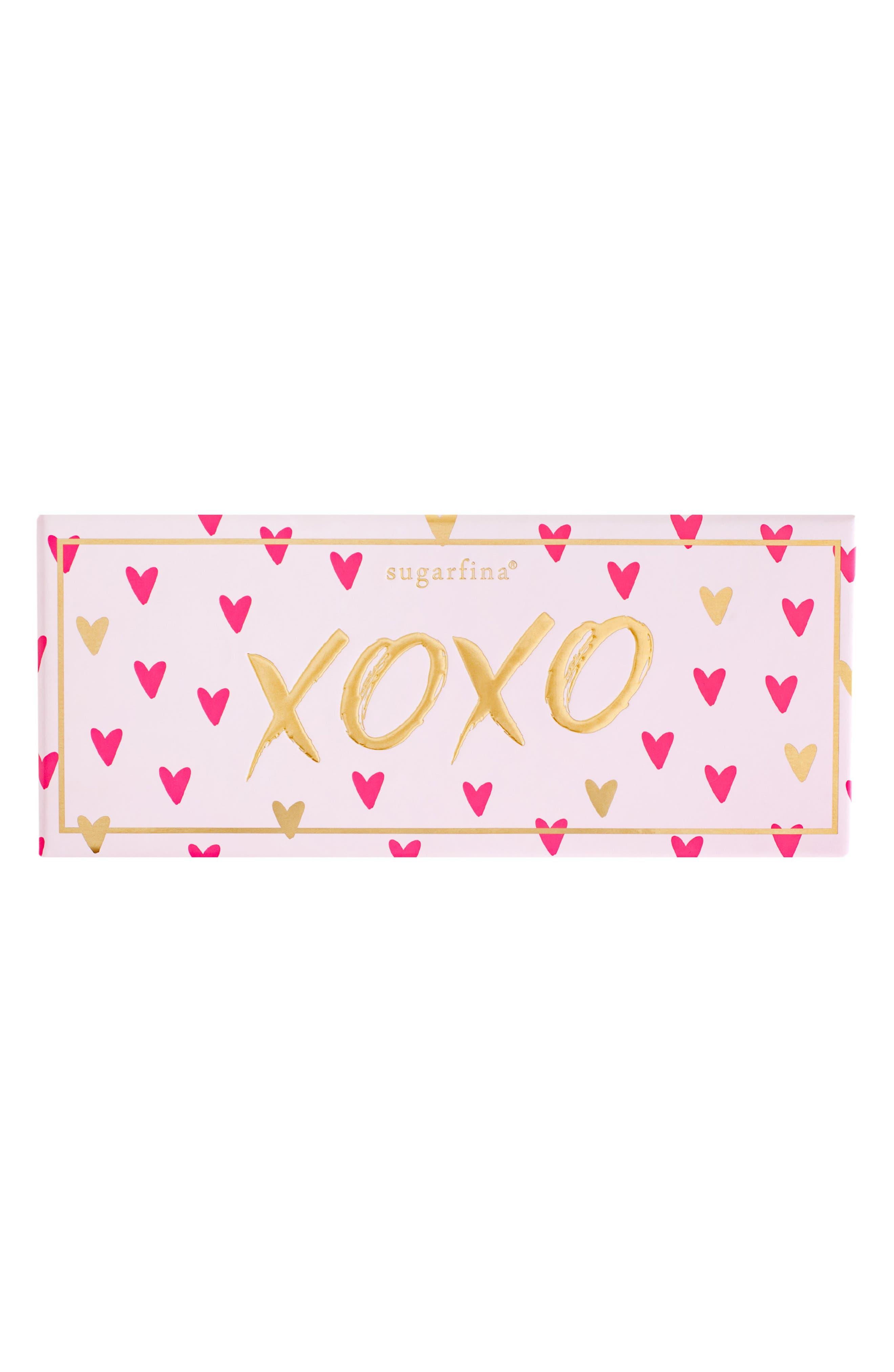 XOXO 3-Piece Candy Bento Box,                             Alternate thumbnail 3, color,                             PINK