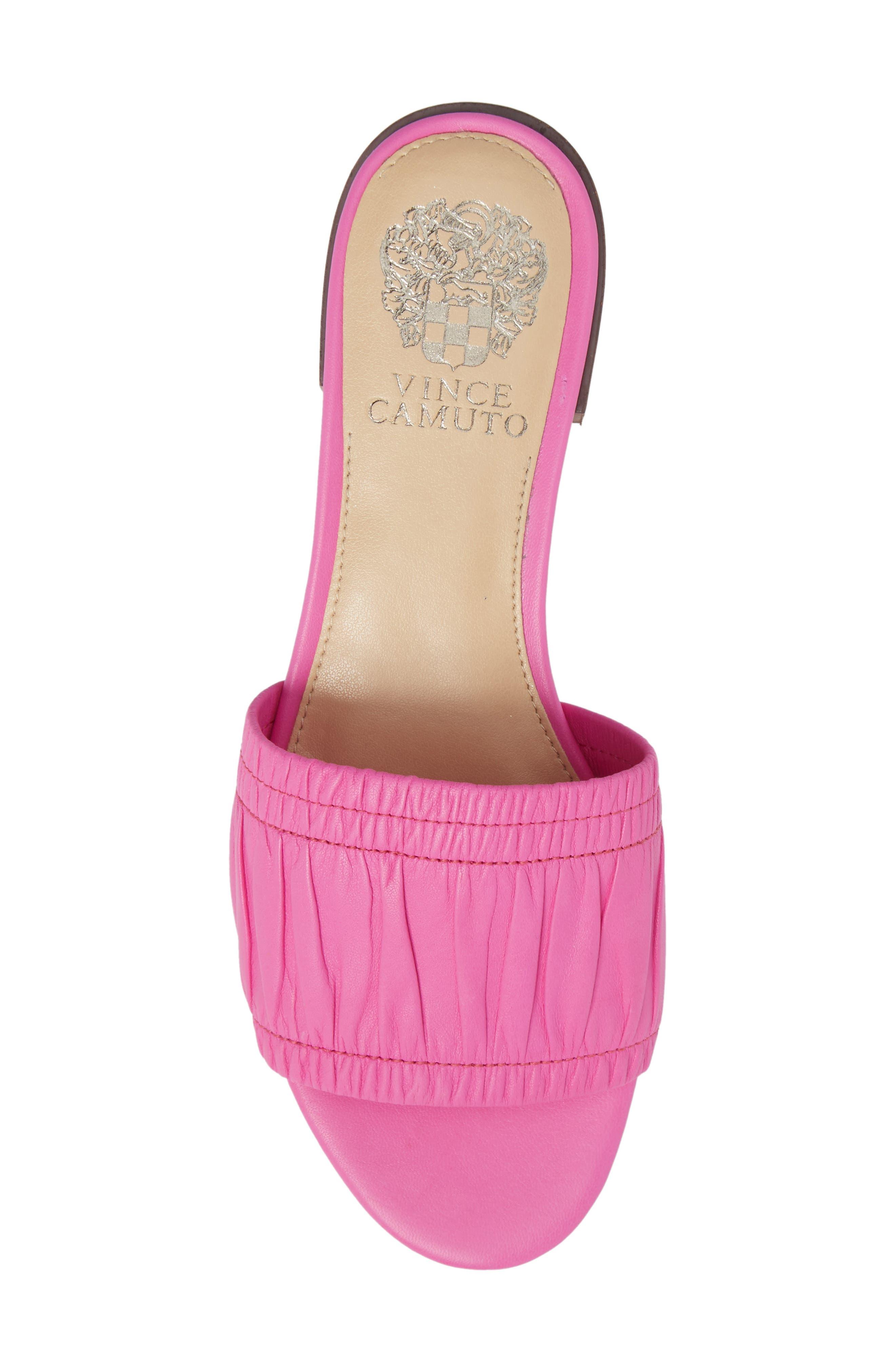 Nanita Pleated Slide Sandal,                             Alternate thumbnail 20, color,
