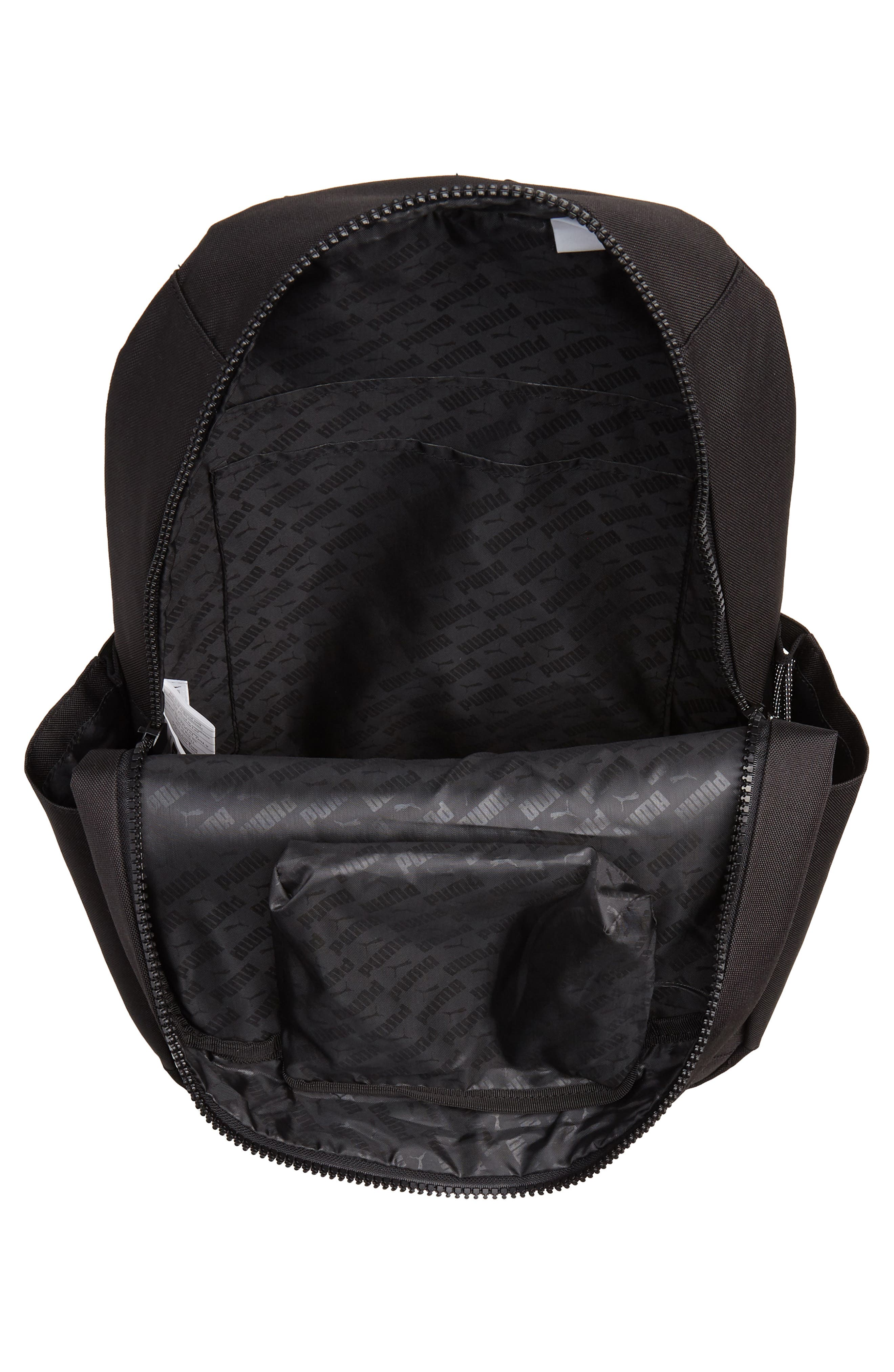 Speedway Backpack,                             Alternate thumbnail 4, color,                             BLACK