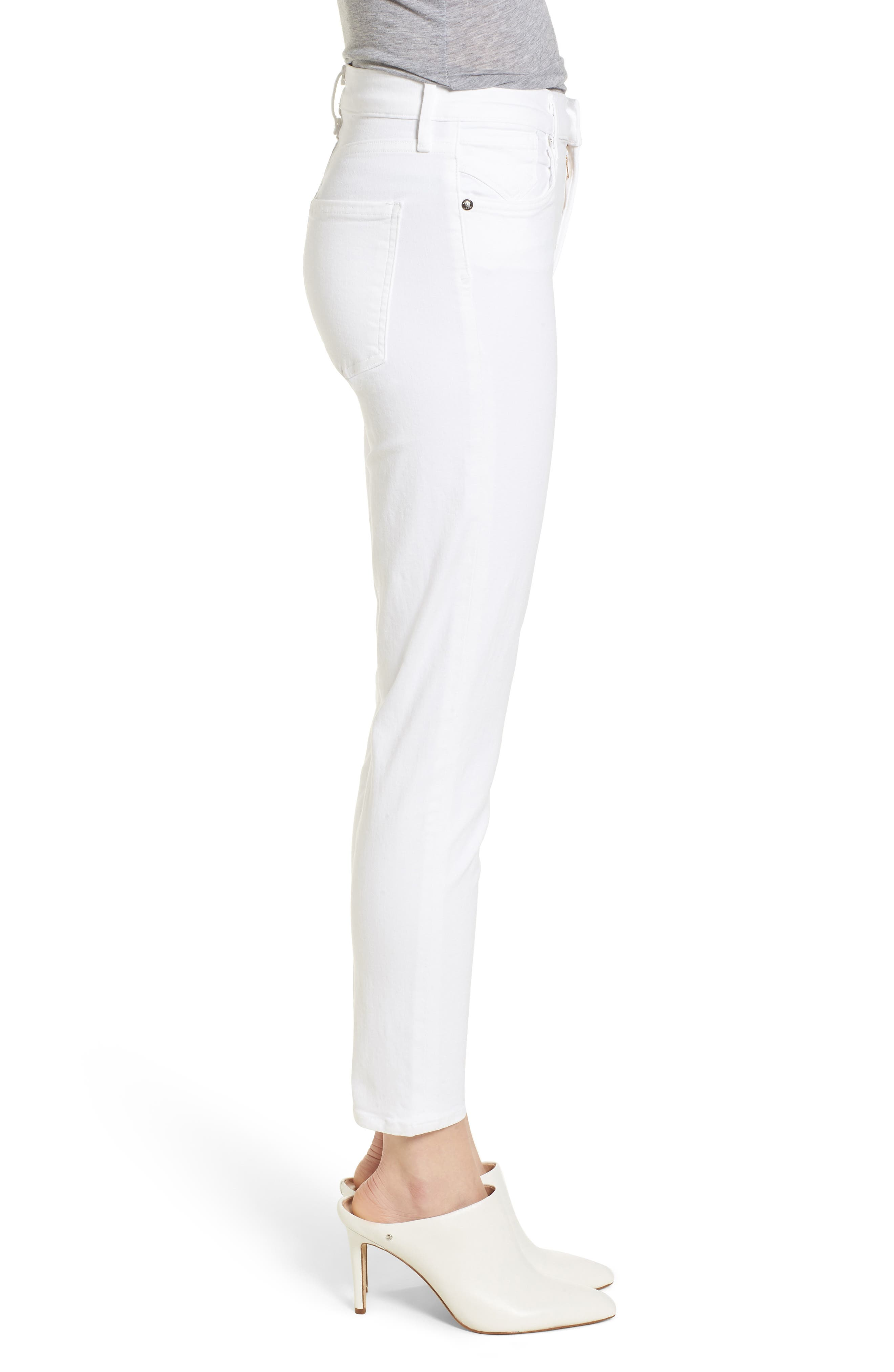 Sophie High Waist Ankle Skinny Jeans,                             Alternate thumbnail 3, color,                             VIXEN