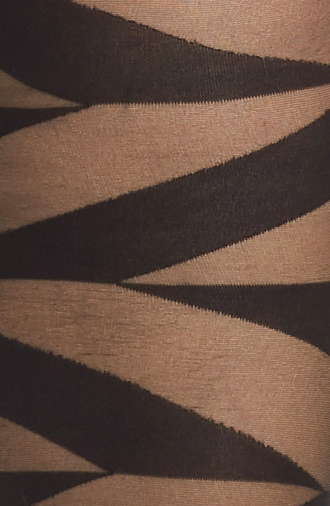 Geo Sheer Tights,                             Alternate thumbnail 2, color,                             007