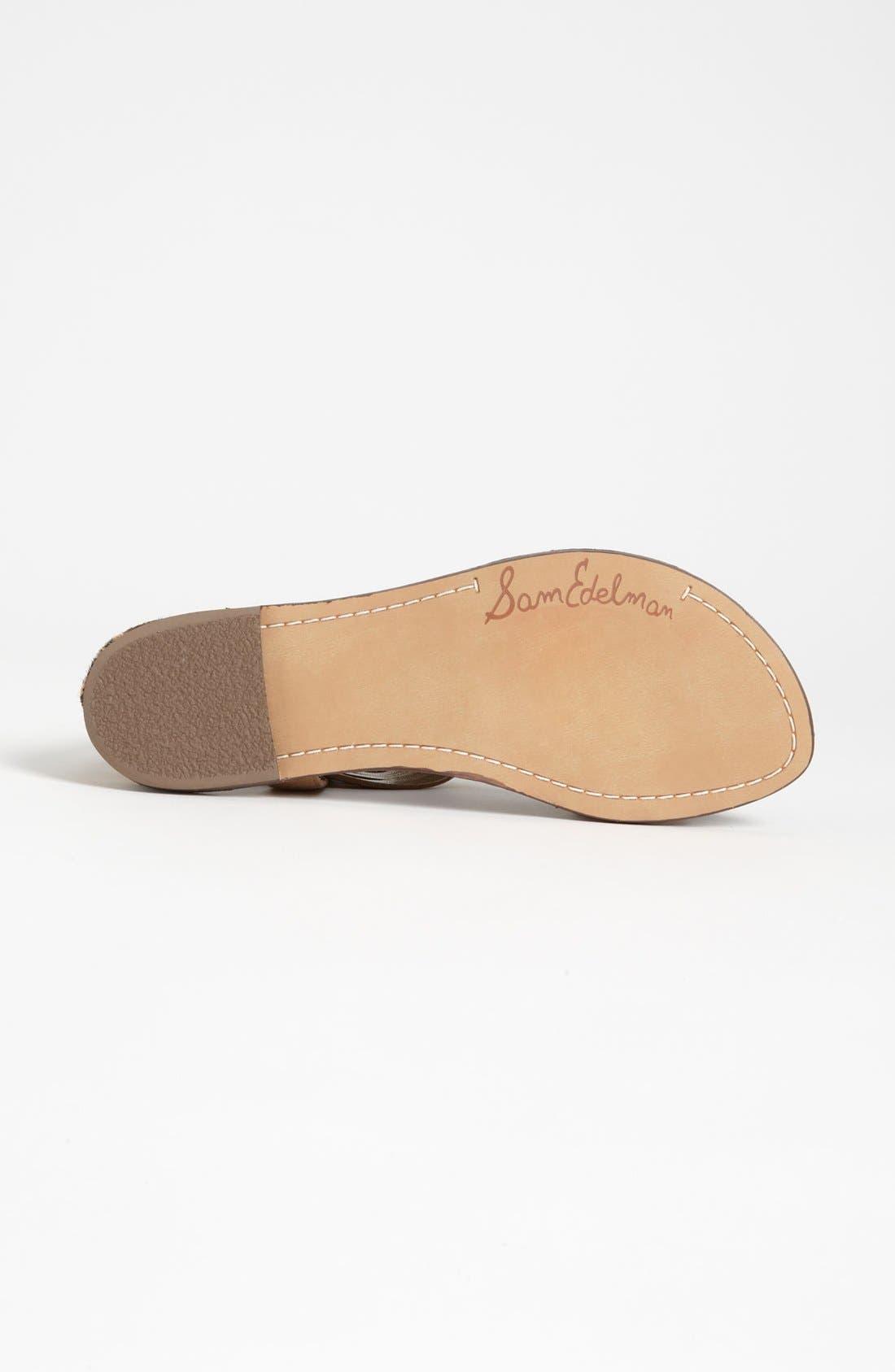 Embellished Sandal,                             Alternate thumbnail 4, color,                             200