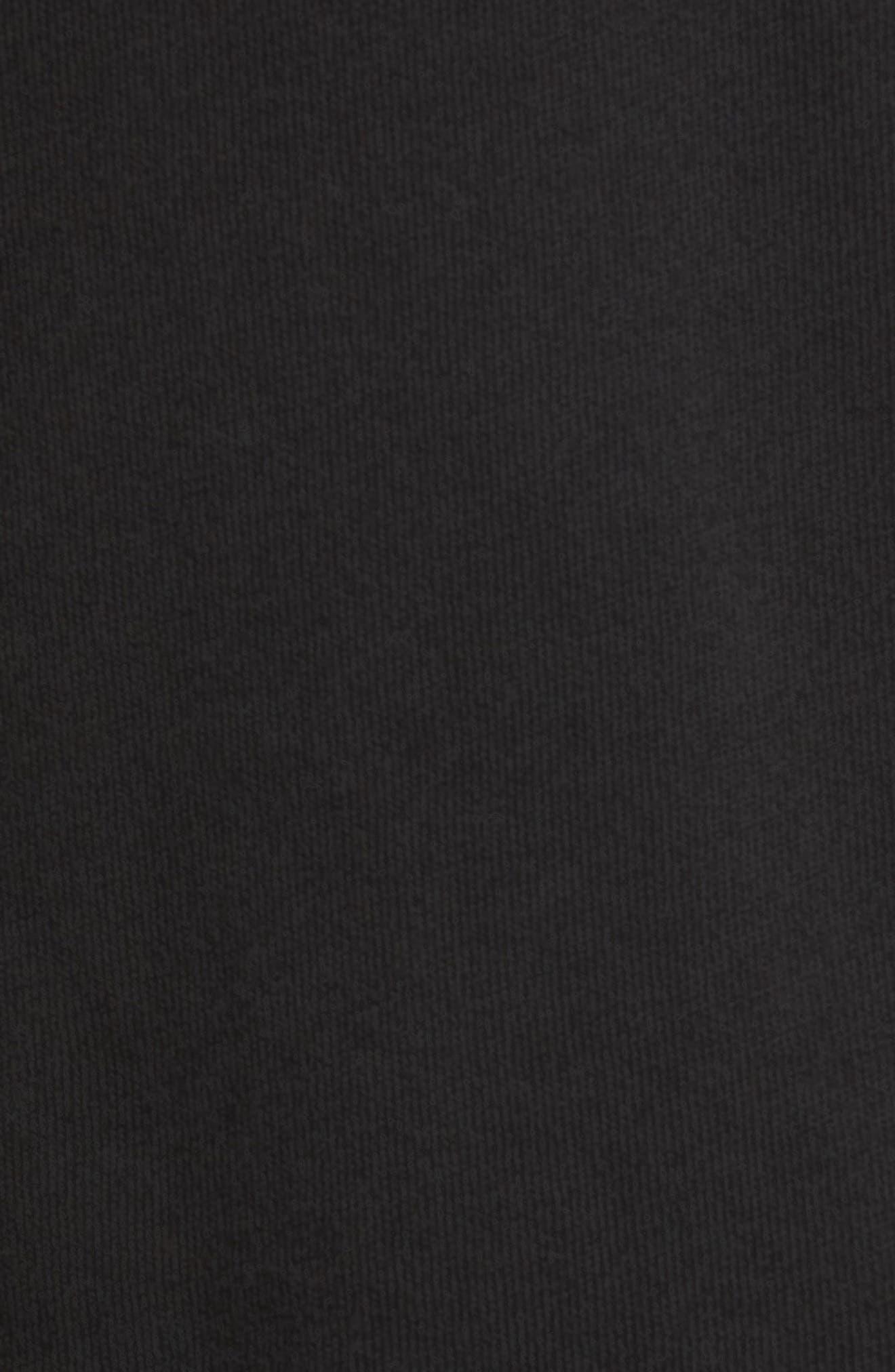 Beverly Hills Crest Sommers Sweatshirt,                             Alternate thumbnail 5, color,                             CLEAN BLACK