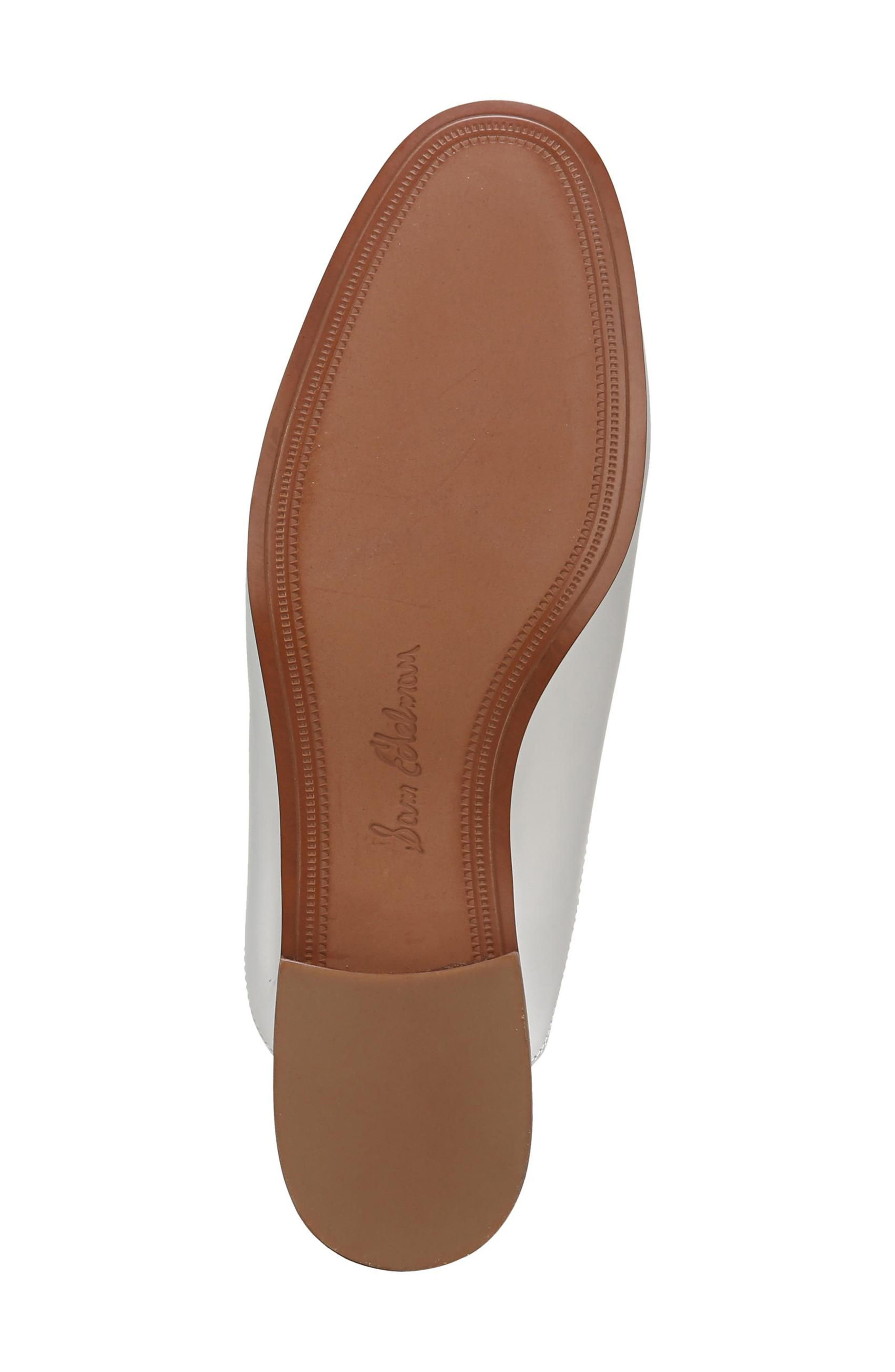 Laurna Mule,                             Alternate thumbnail 6, color,                             BRIGHT WHITE LEATHER
