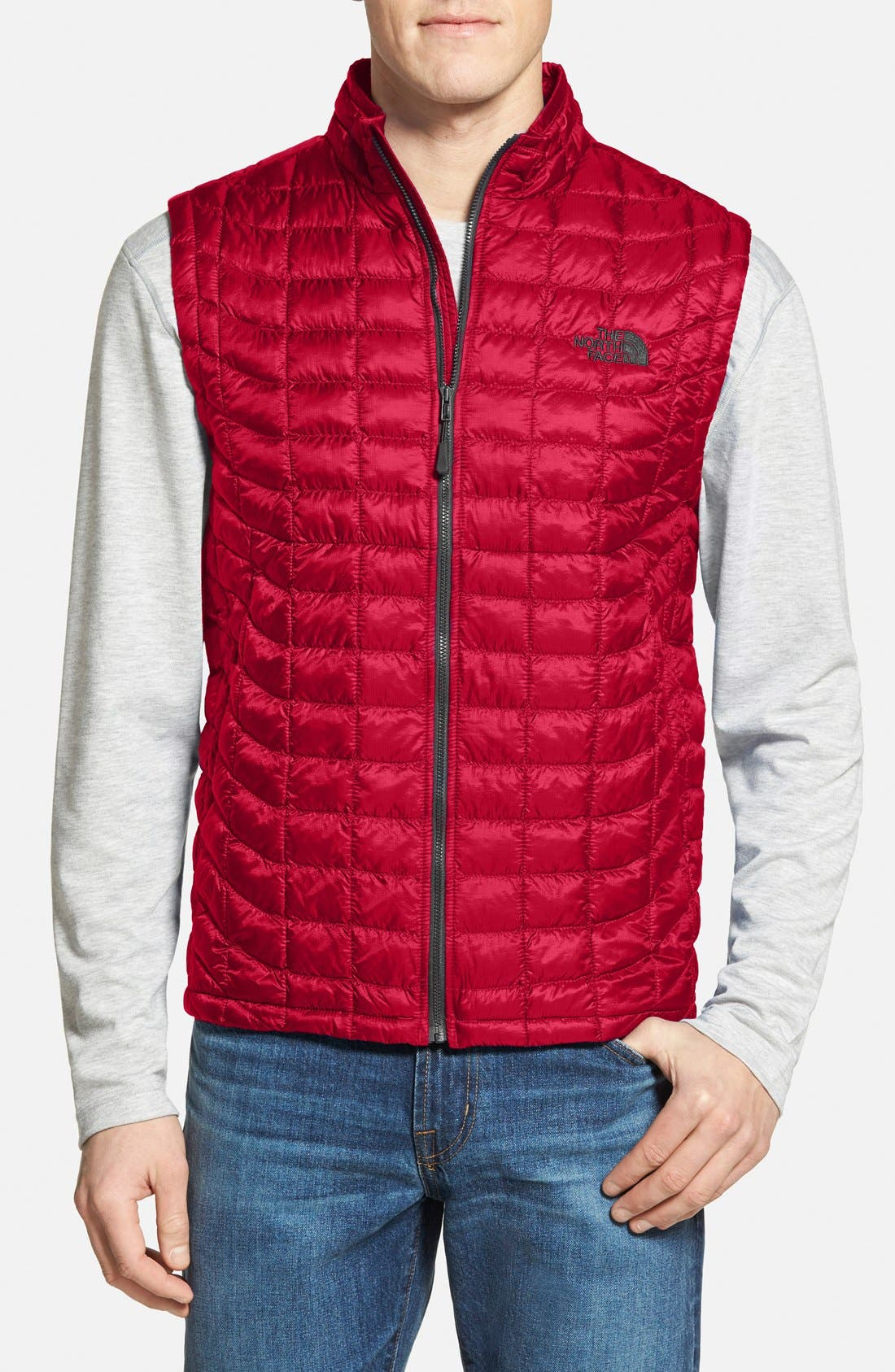 'ThermoBall<sup>™</sup>' Packable PrimaLoft<sup>®</sup> Vest,                             Main thumbnail 21, color,