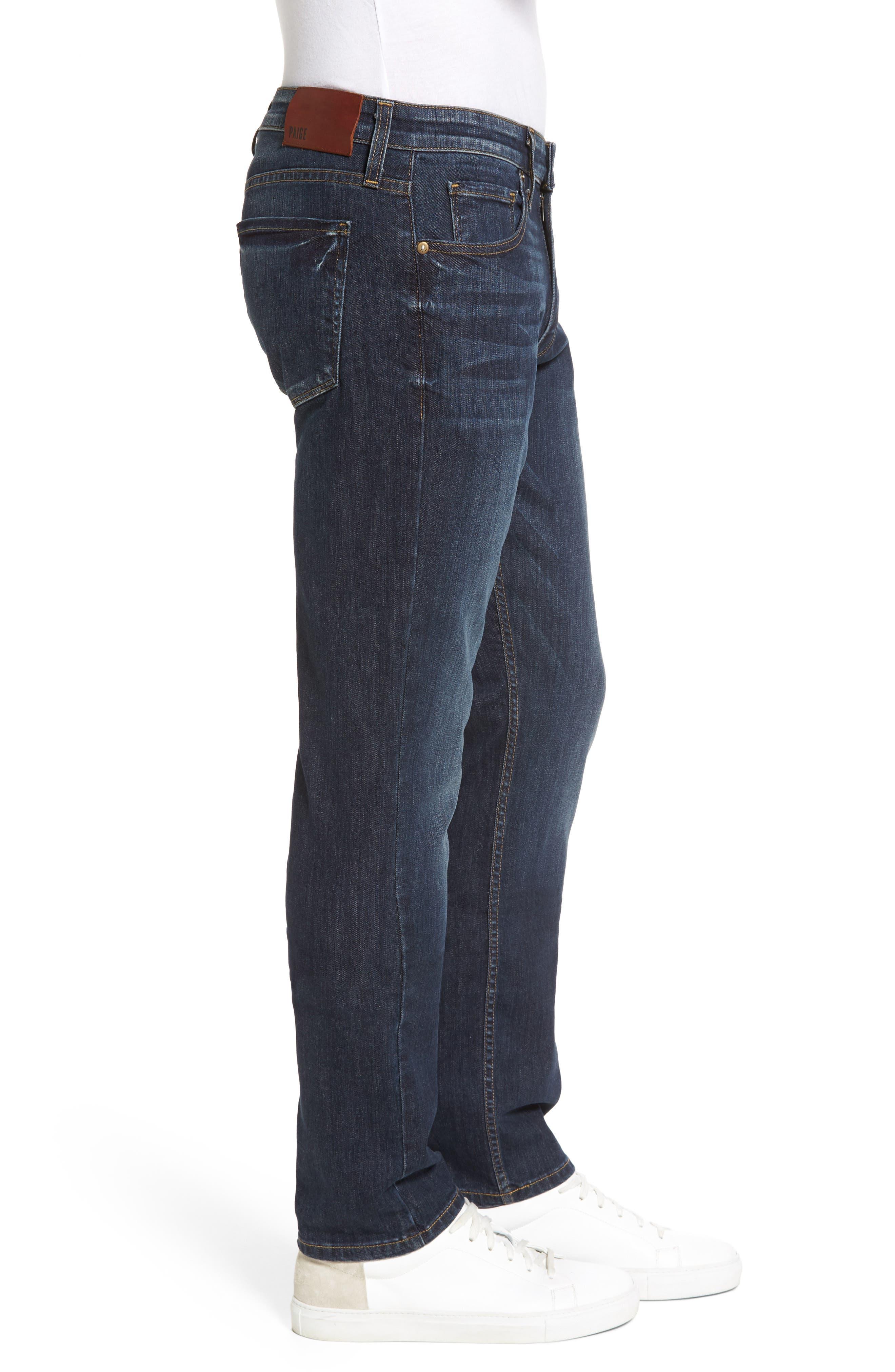 PAIGE,                             Legacy - Federal Slim Straight Leg Jeans,                             Alternate thumbnail 3, color,                             400
