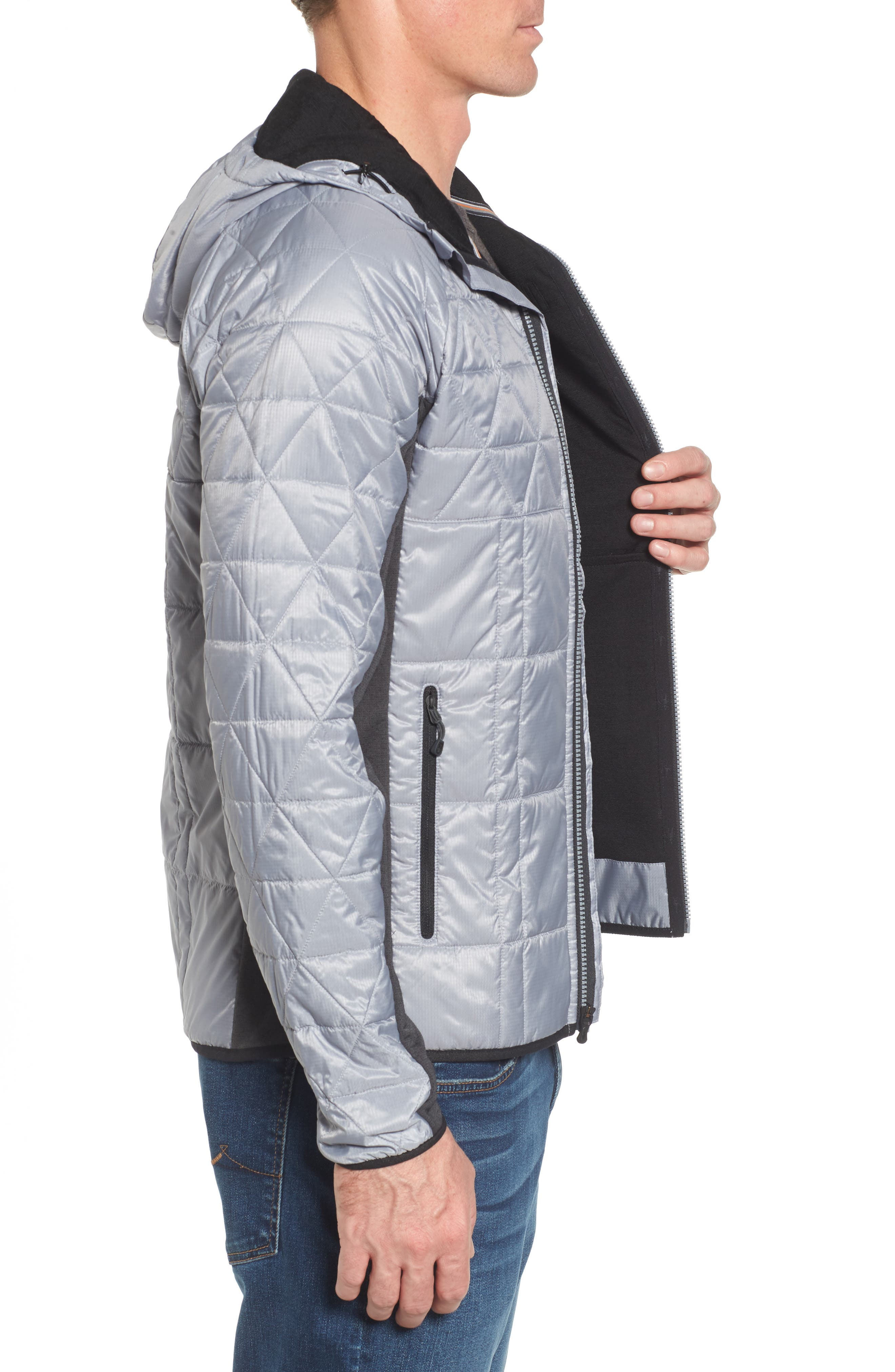 Double Corbet 120 Water Resistant Quilted Jacket,                             Alternate thumbnail 3, color,