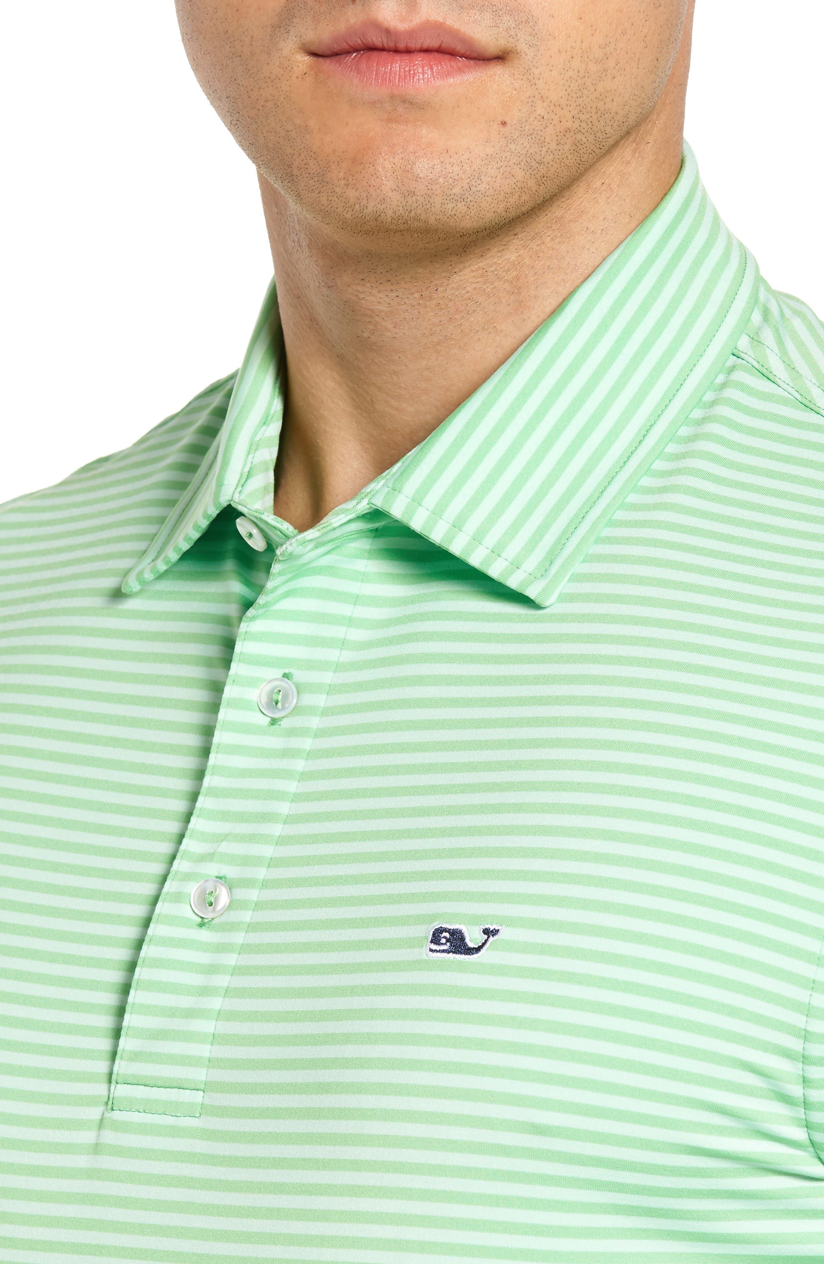 Kennedy Stripe Golf Polo,                             Alternate thumbnail 65, color,