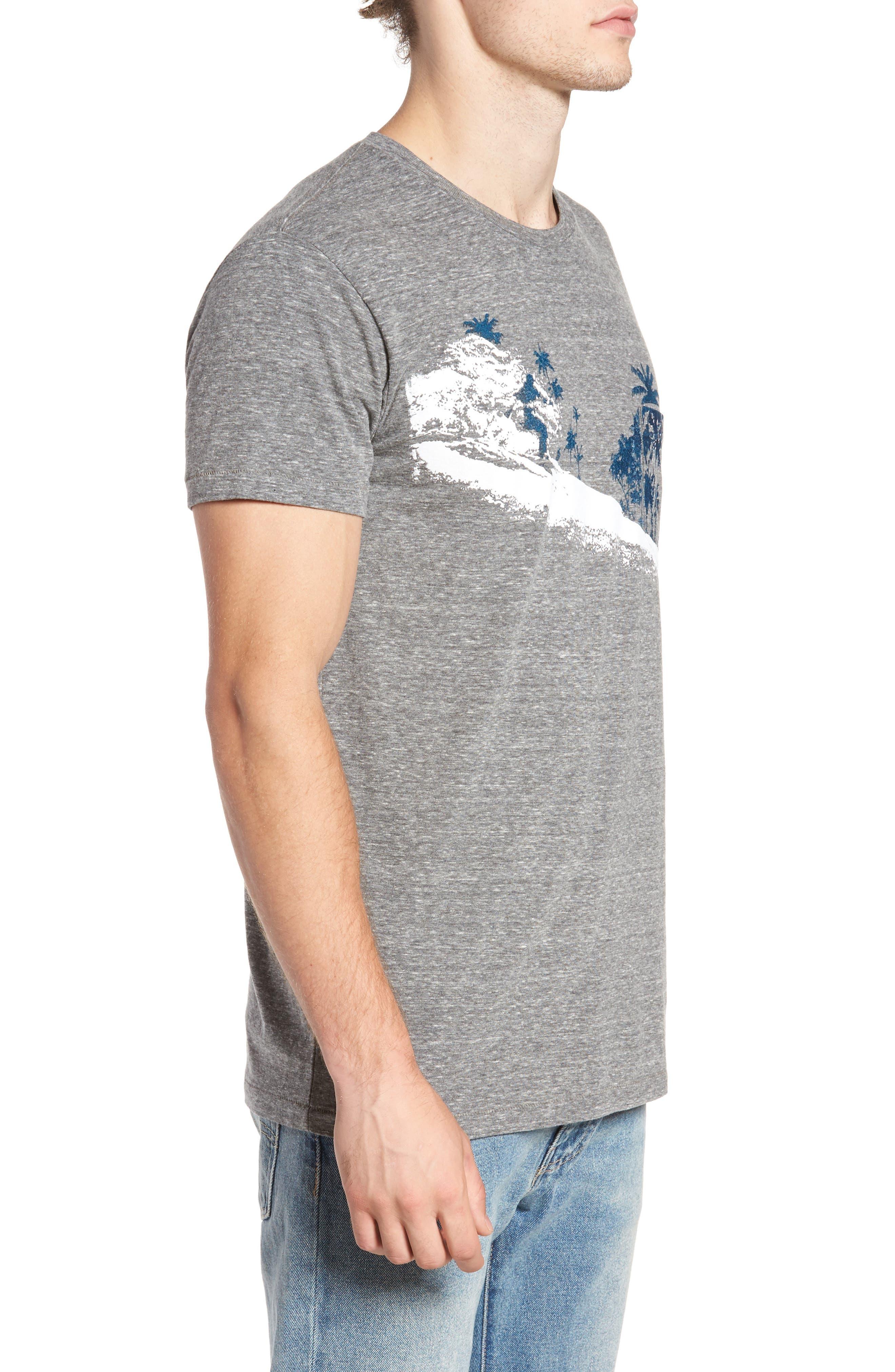 Palm Diamonds Pocket T-Shirt,                             Alternate thumbnail 3, color,