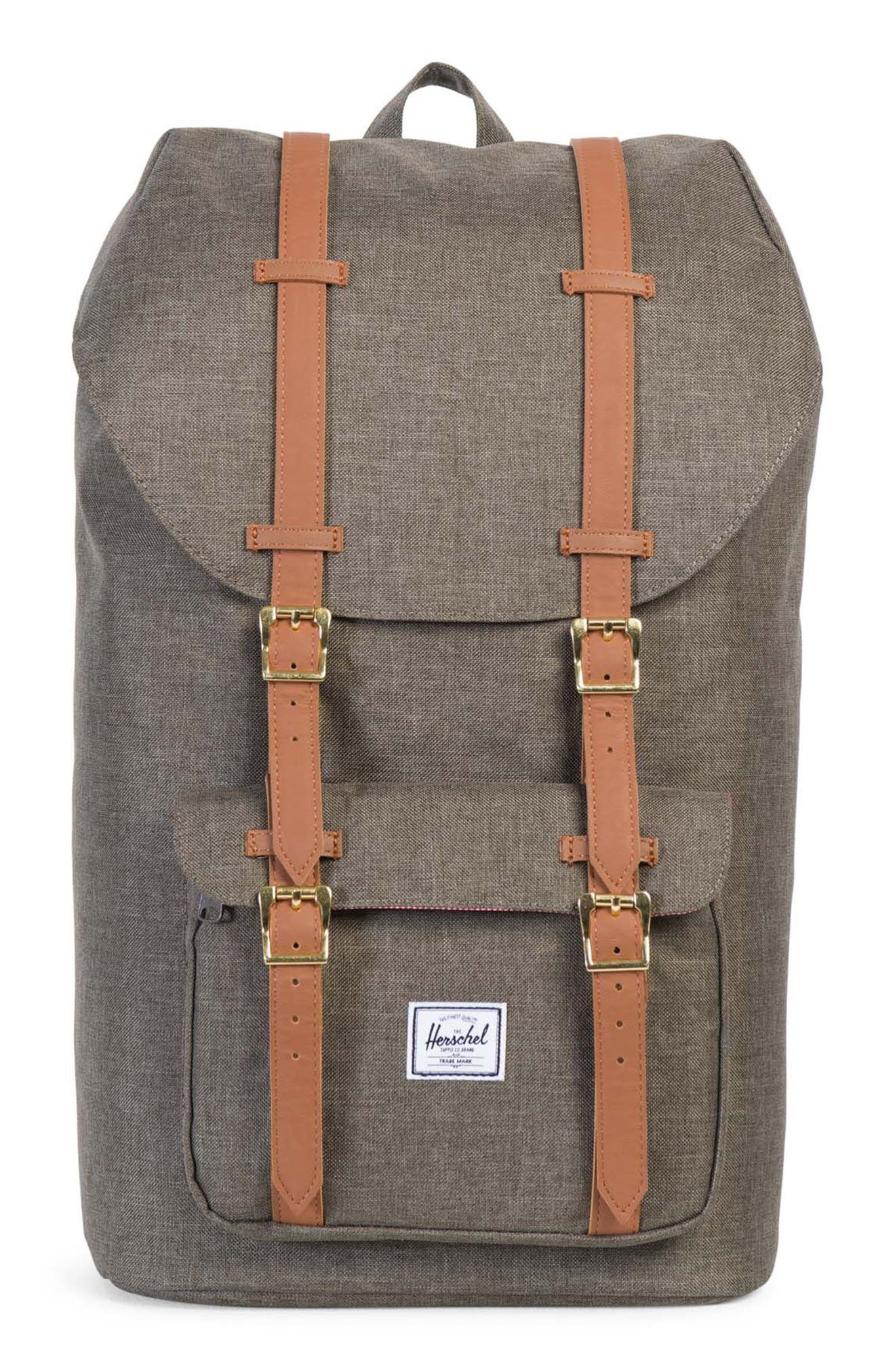 Little America Crosshatch Backpack,                         Main,                         color, 218