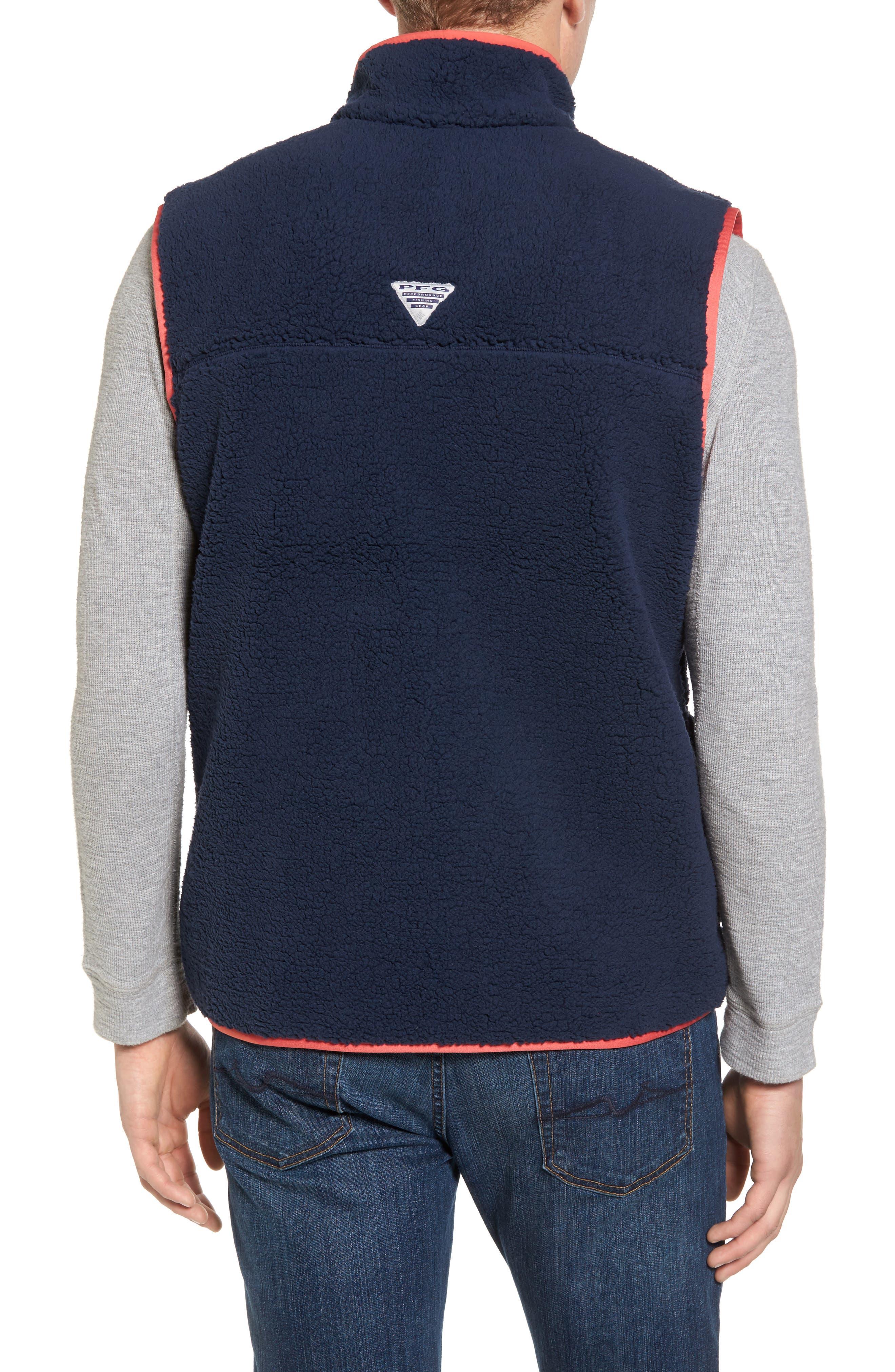 Sportswear Harborside Heavyweight Fleece Vest,                             Alternate thumbnail 6, color,
