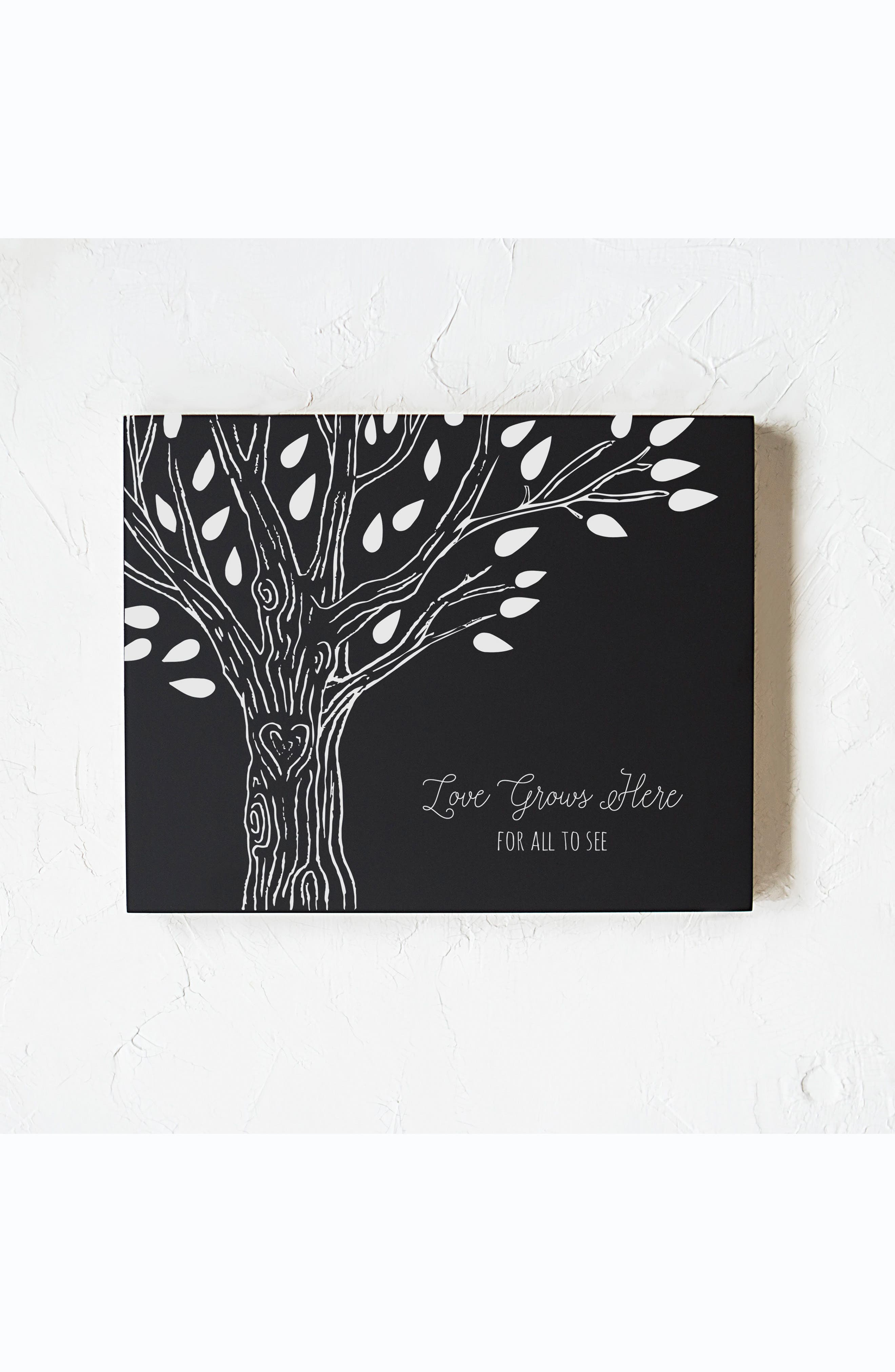 CATHY'S CONCEPTS Family Tree Chalkboard, Main, color, 001