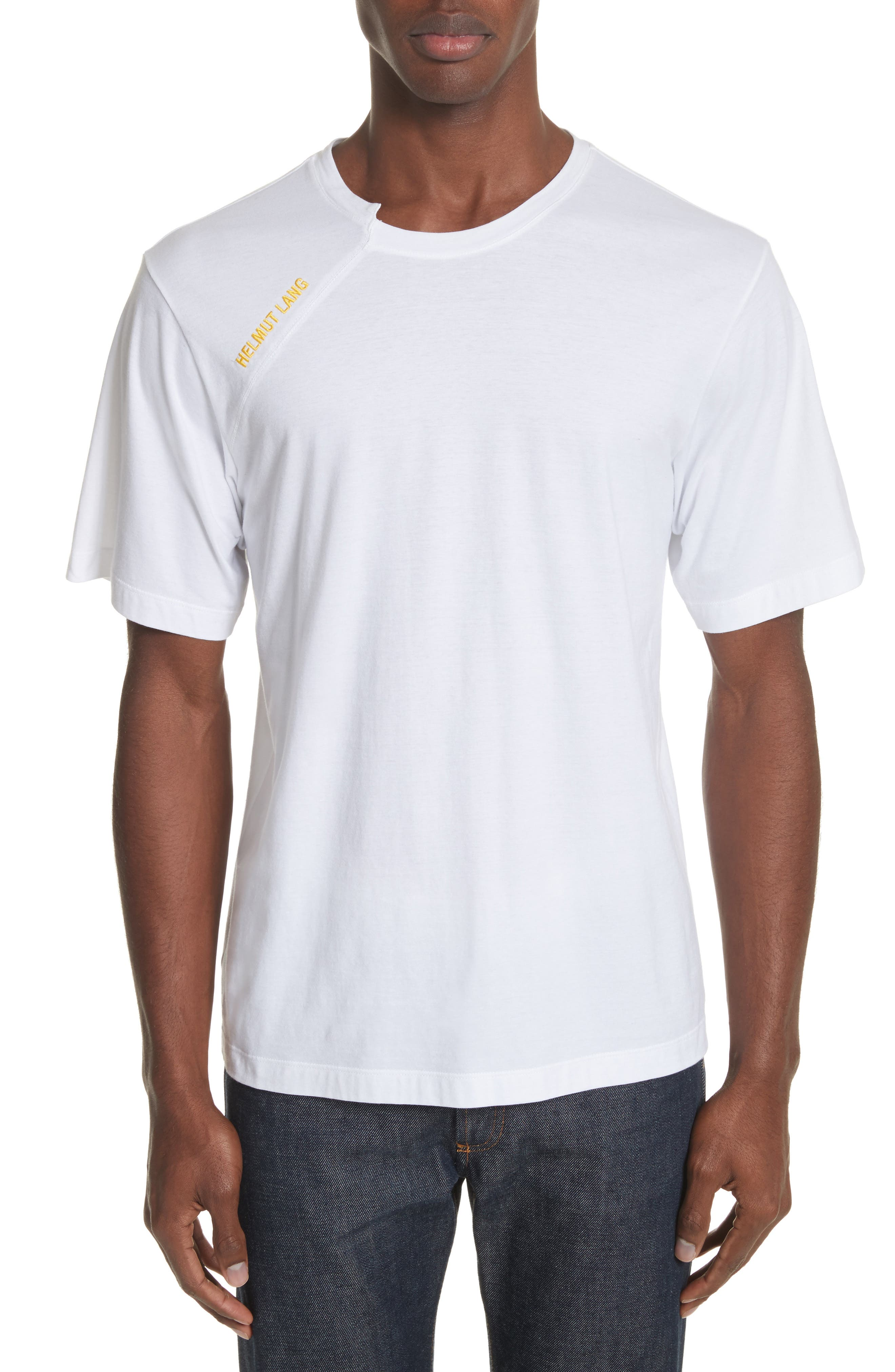 Cut Neck T-Shirt,                         Main,                         color, 114