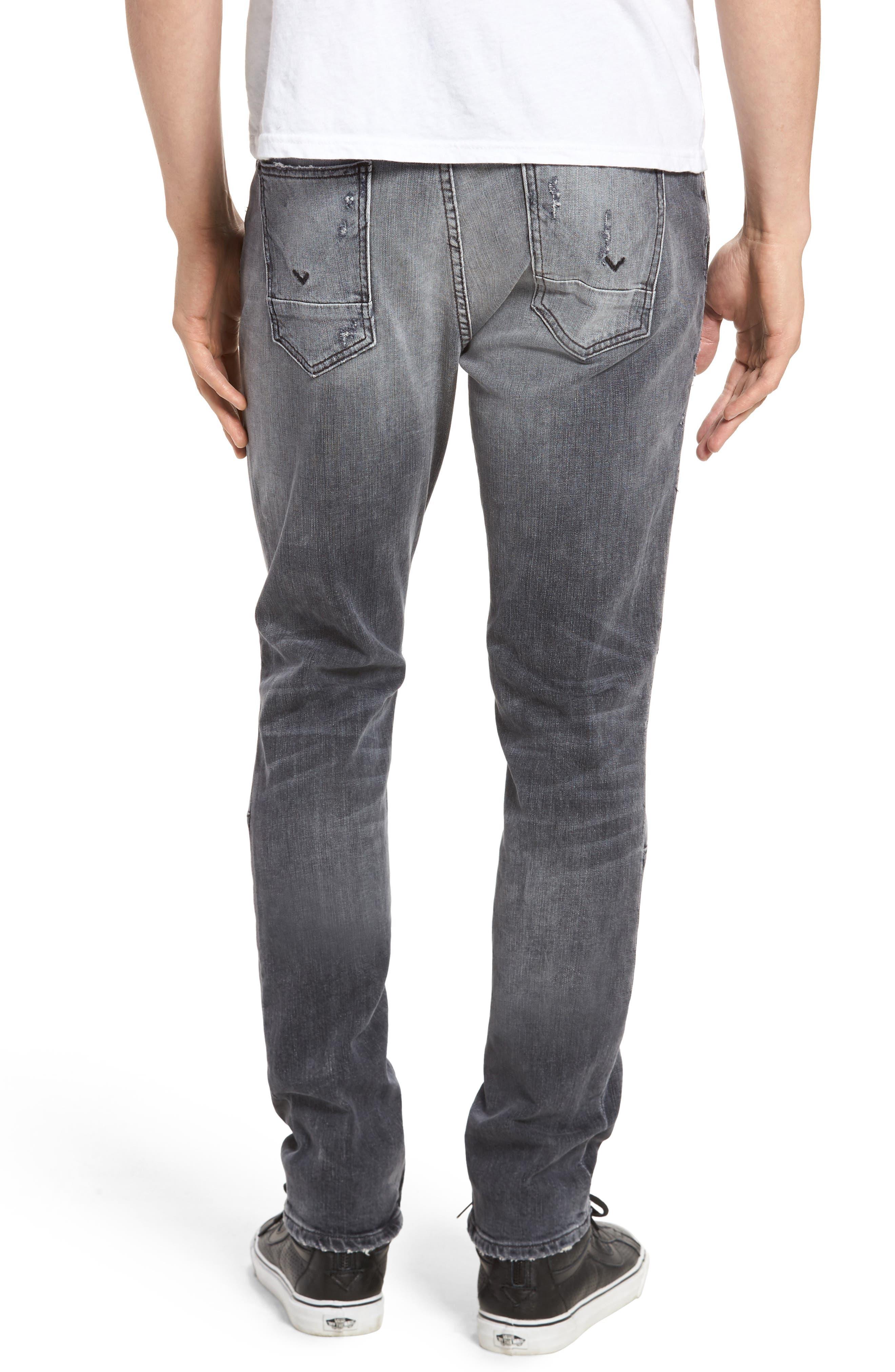 Vaughn Skinny Fit Jeans,                             Alternate thumbnail 2, color,                             VIOLATE