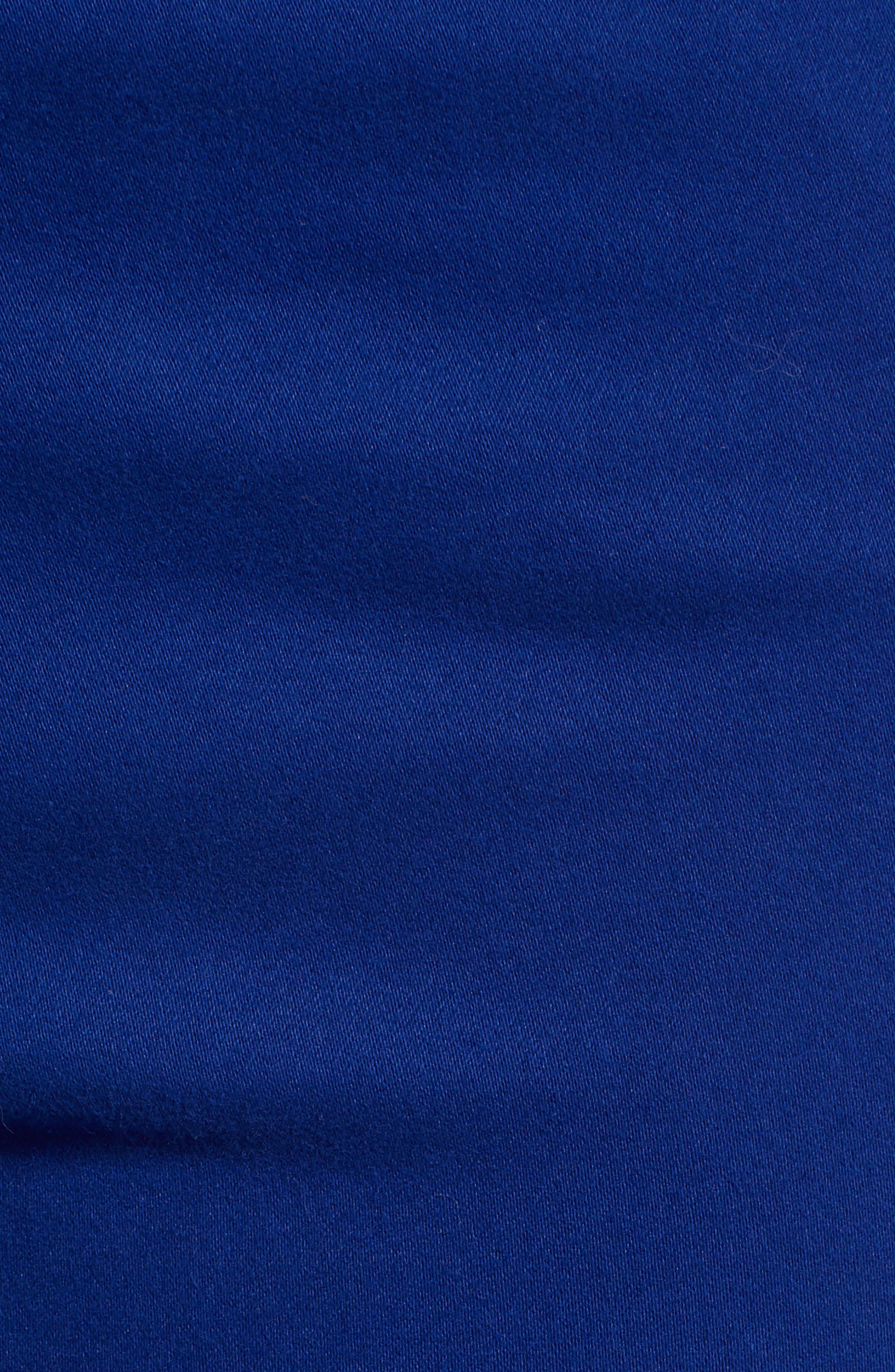 Farrah High Waist Ankle Skinny Jeans,                             Alternate thumbnail 6, color,                             EGYPTIAN BLUE