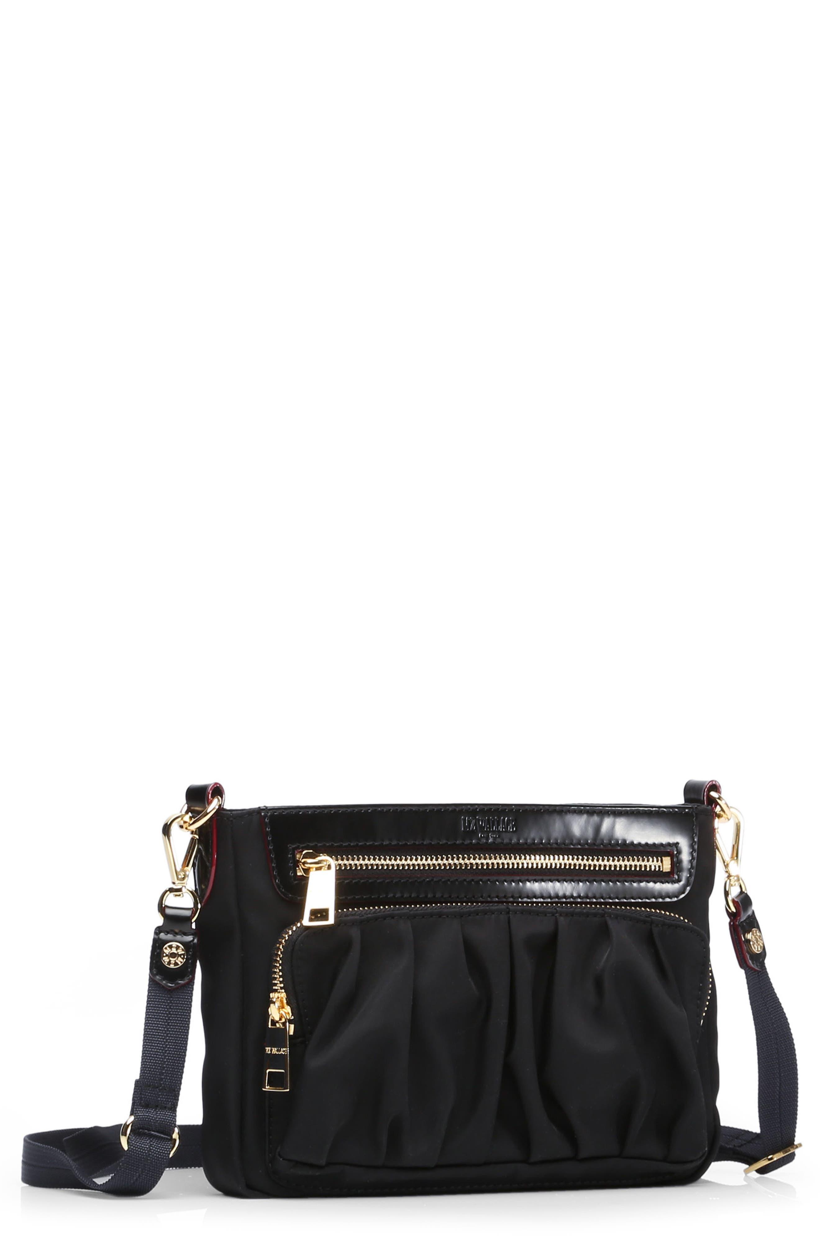 Abbey Crossbody Bag,                             Main thumbnail 1, color,                             BLACK BEDFORD