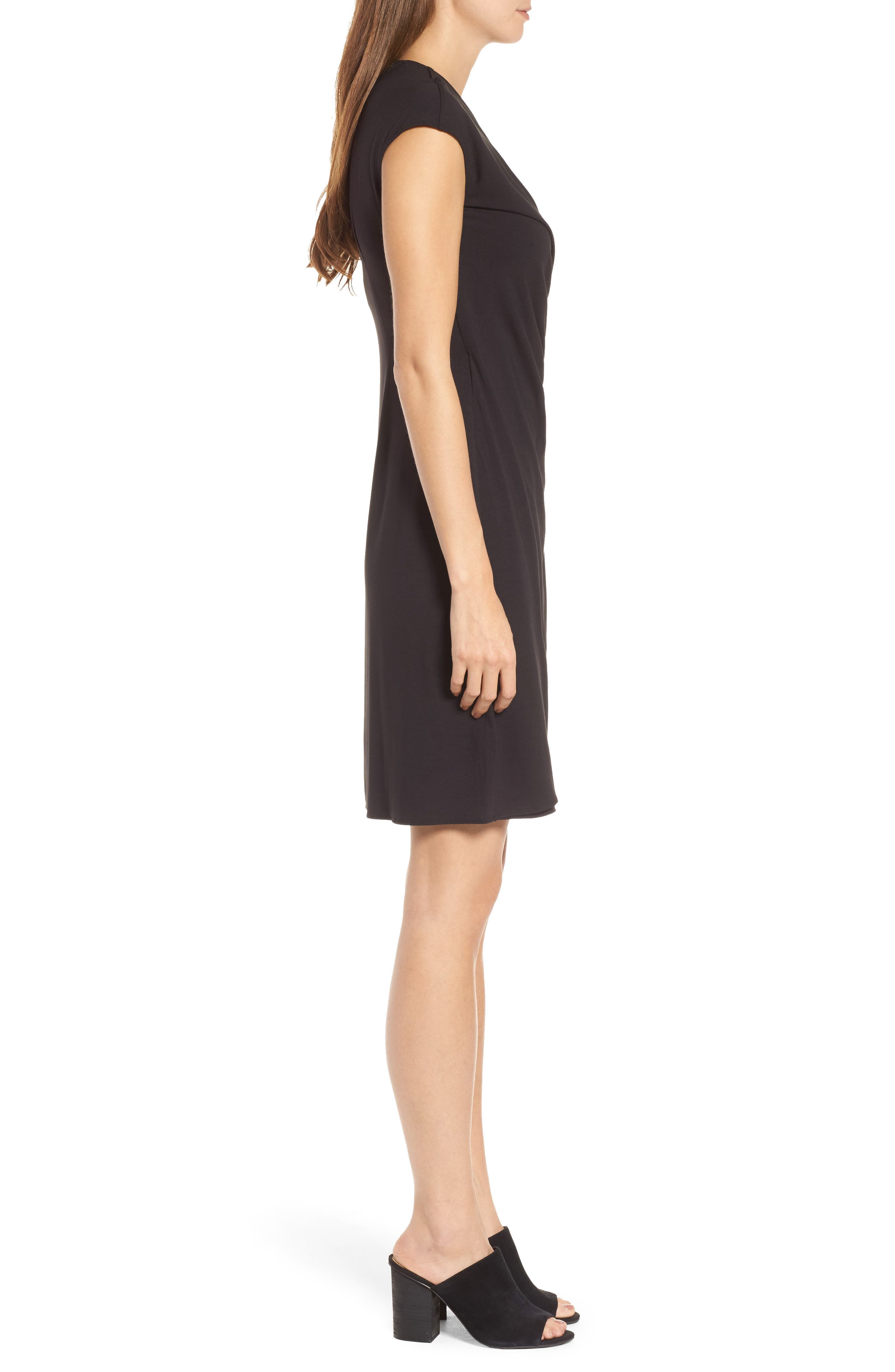 'Tambour' Side Gathered Dress,                             Alternate thumbnail 24, color,