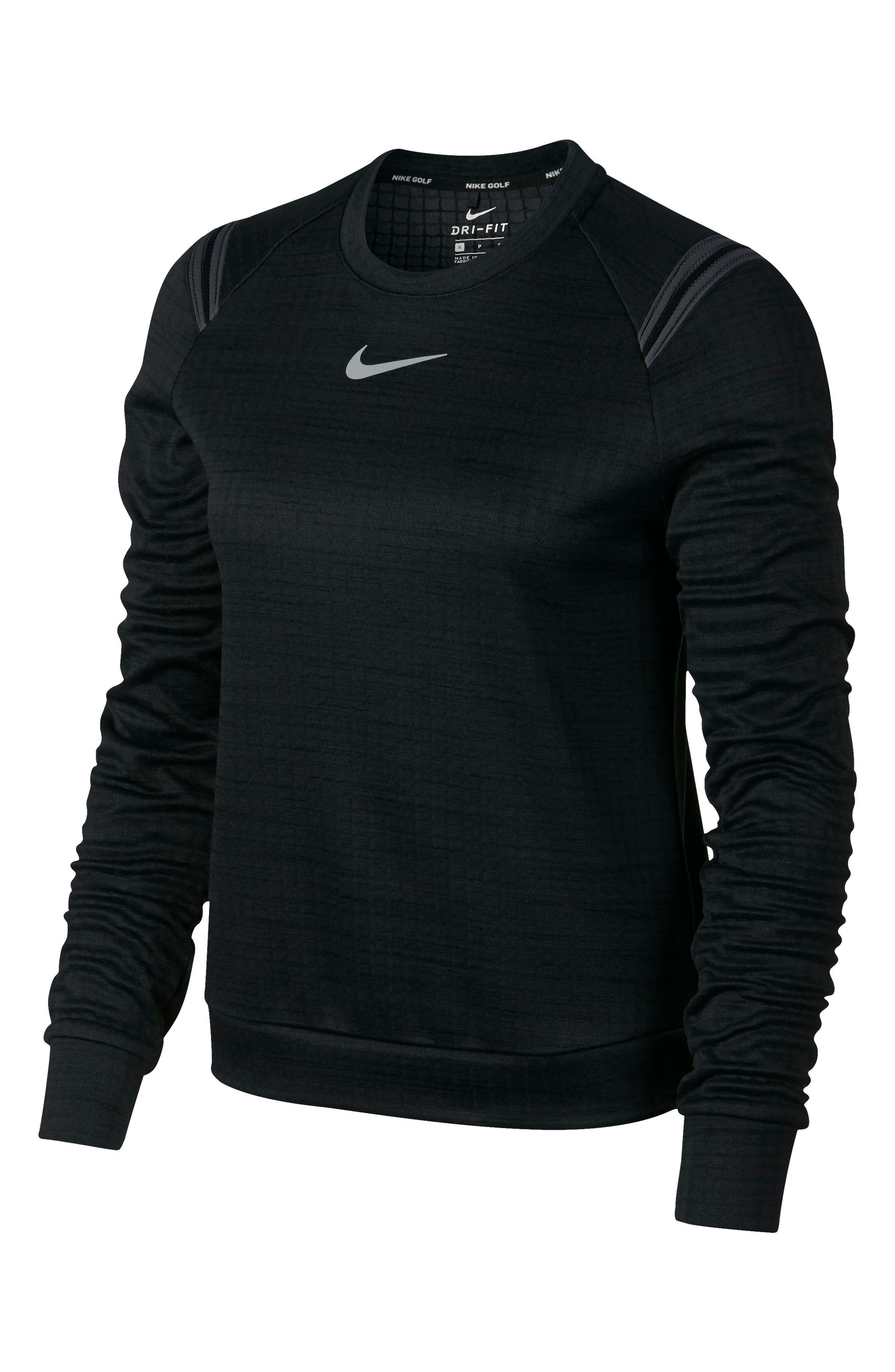 Therma Sphere Long Sleeve Top,                             Alternate thumbnail 6, color,                             010