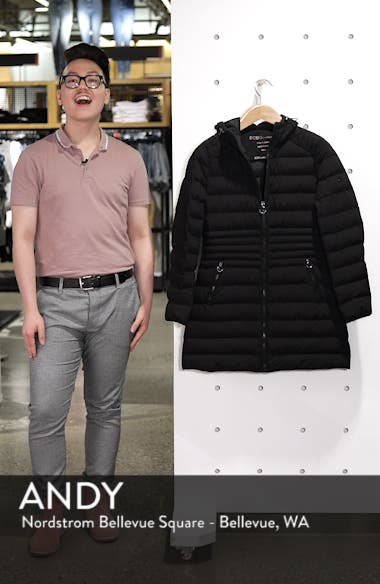 Hooded Down Puffer Coat, sales video thumbnail
