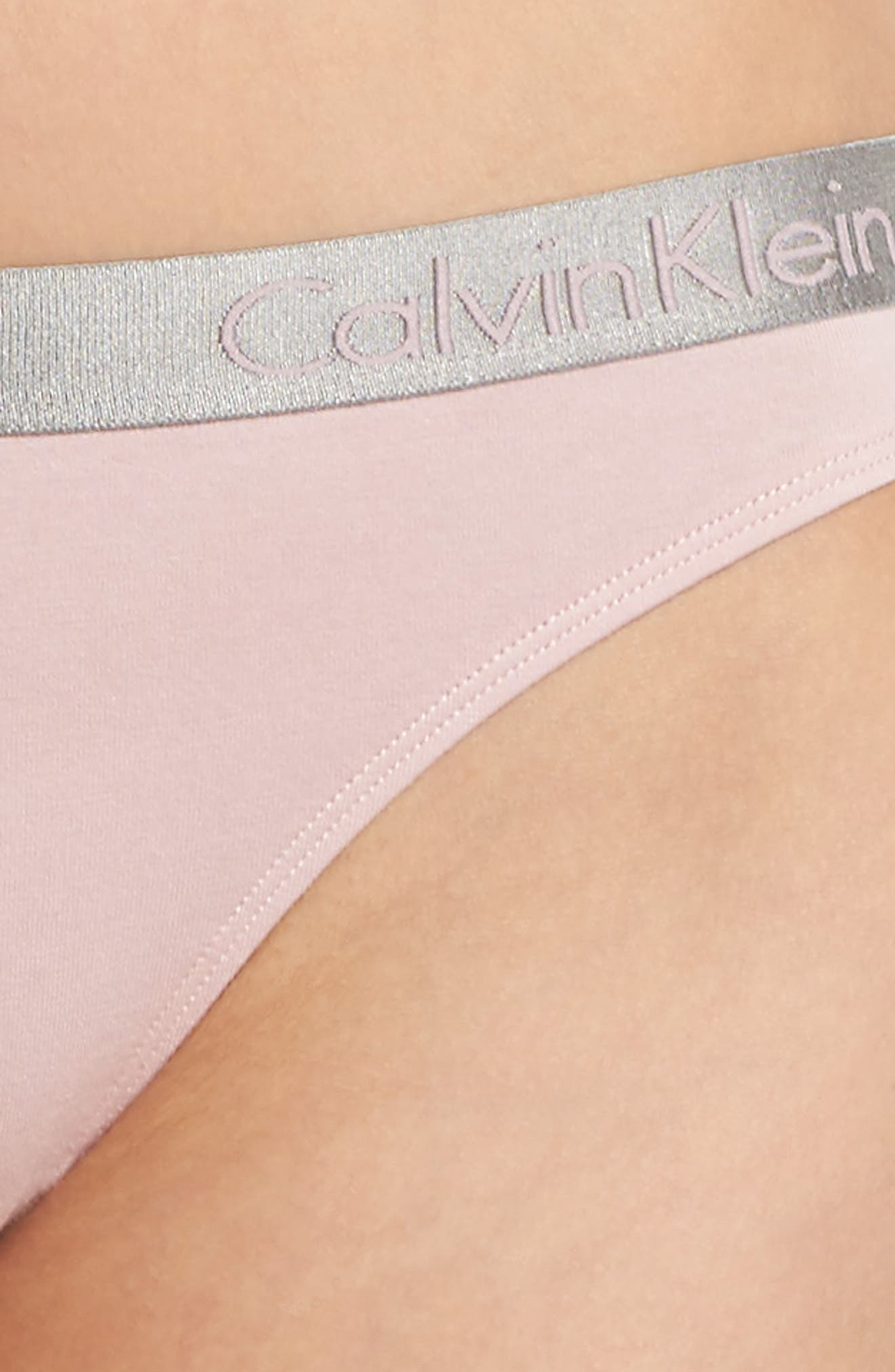 'Radiant' Cotton Thong,                             Alternate thumbnail 80, color,