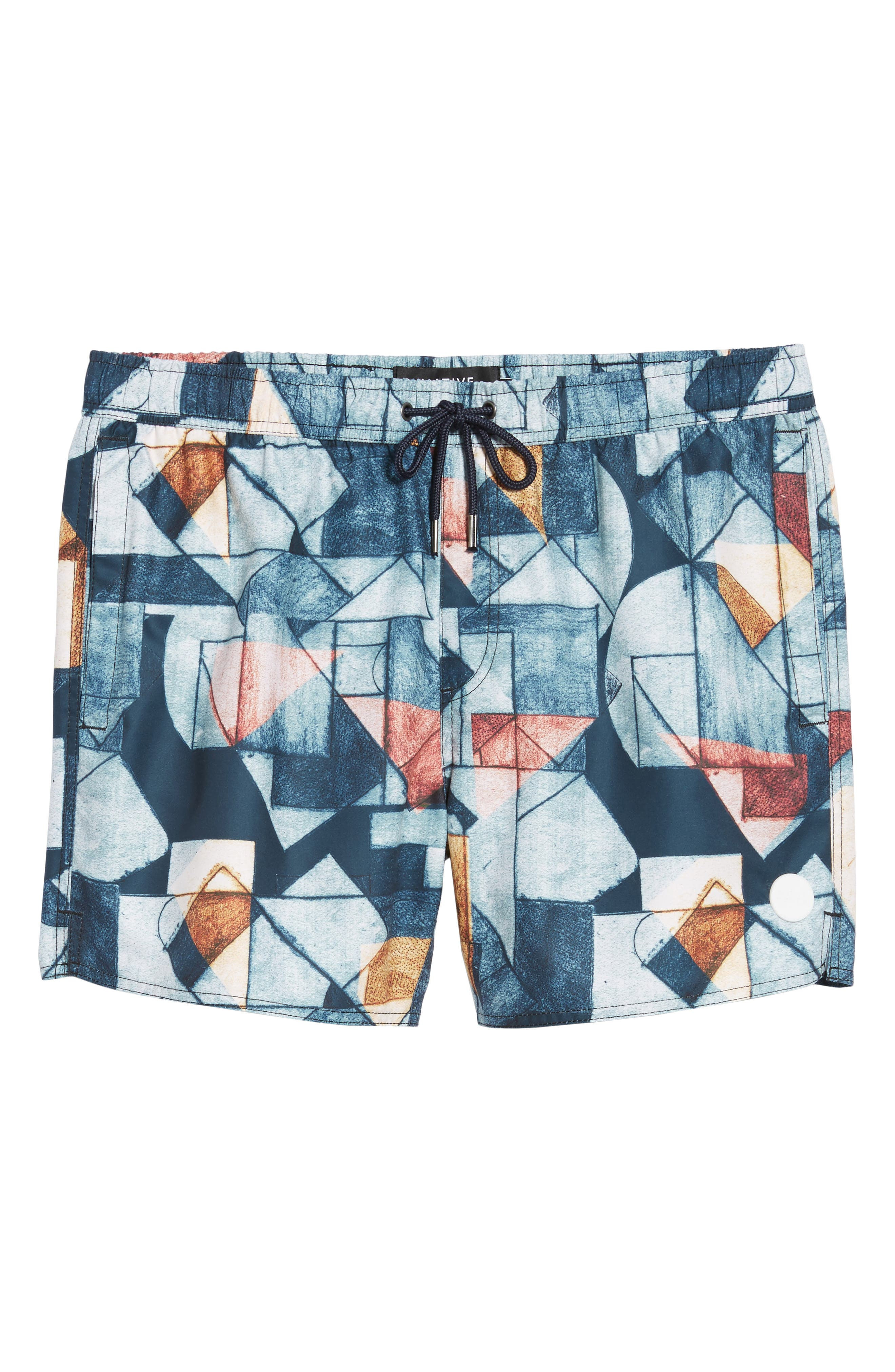 NATIVE YOUTH,                             Olio Etch Swim Trunks,                             Alternate thumbnail 6, color,                             400