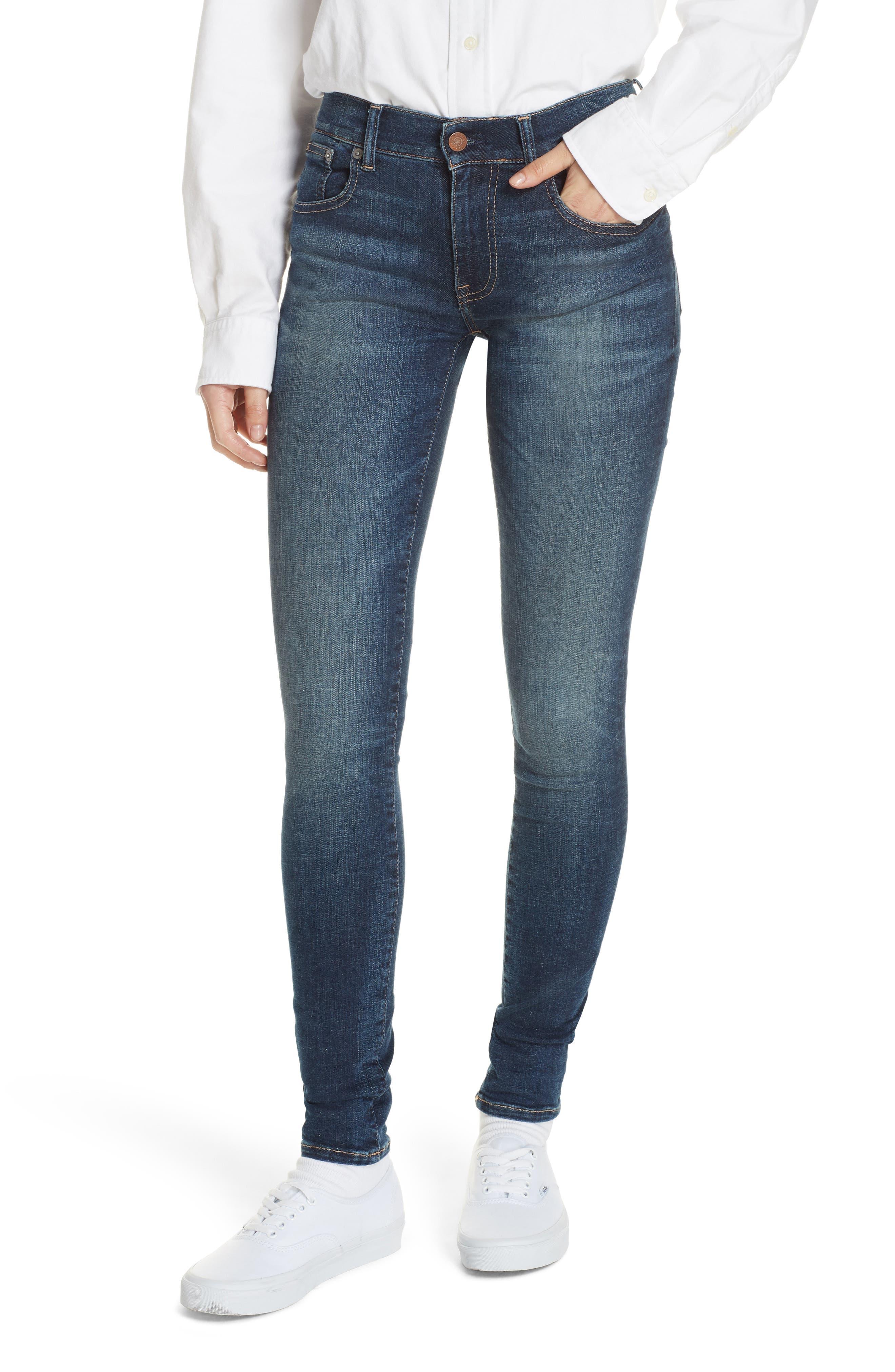 Super Skinny Jeans,                         Main,                         color, DARK INDIGO