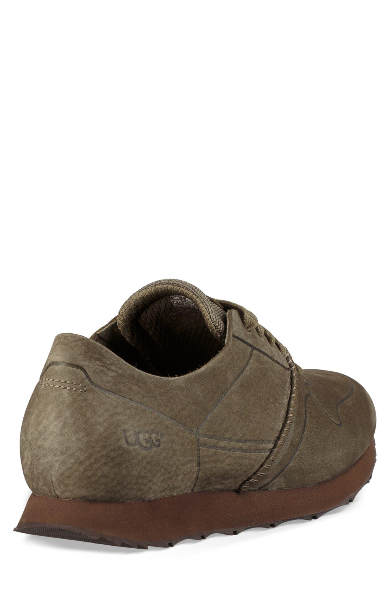 Trigo Unlined Sneaker,                             Alternate thumbnail 2, color,                             MOSS GREEN