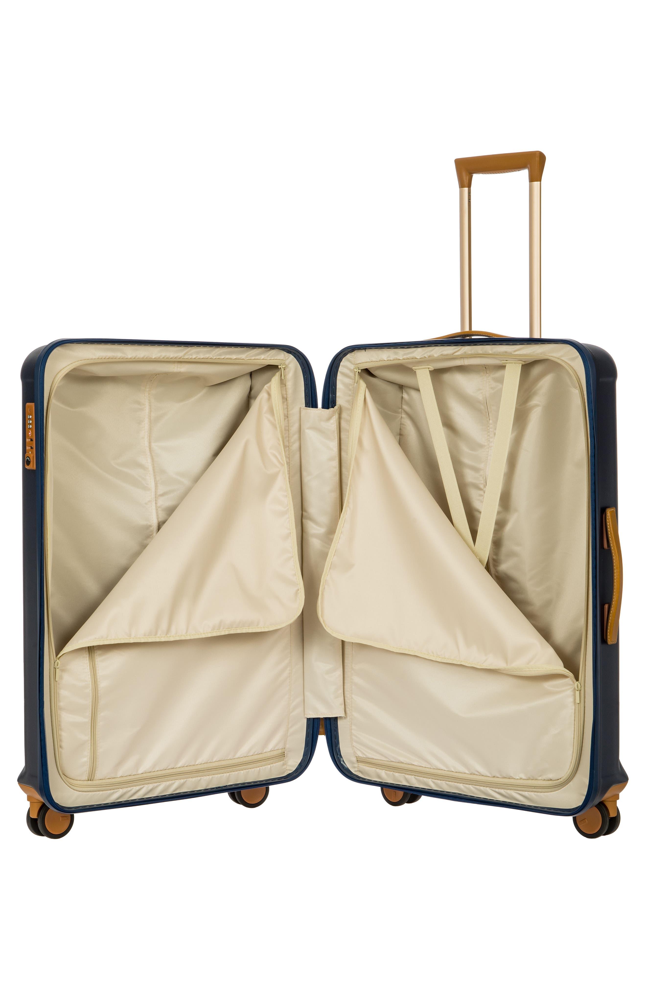 Capri 30-Inch Rolling Suitcase,                             Alternate thumbnail 2, color,                             MATTE BLUE