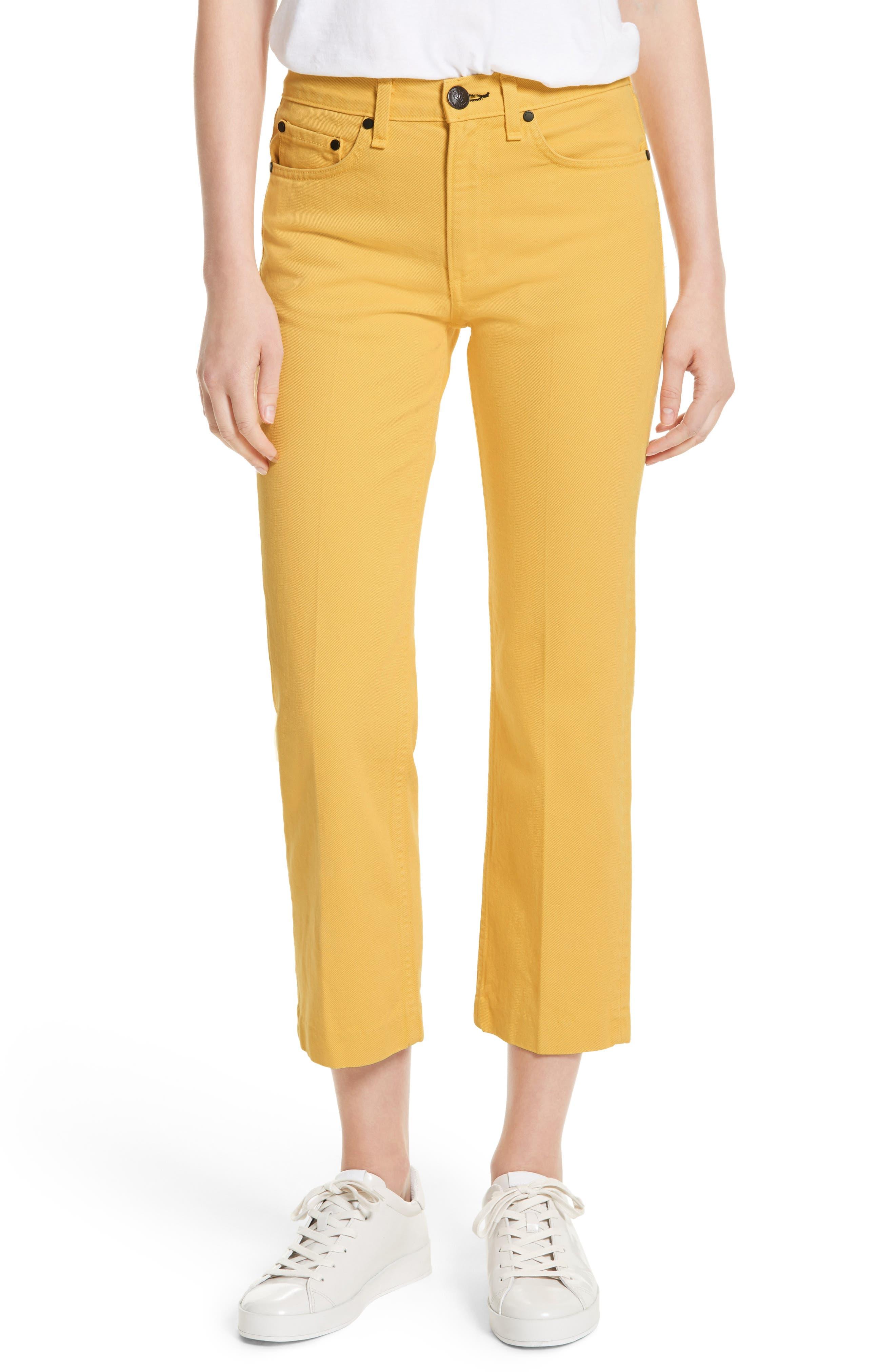 Straight Leg Crop Jeans,                             Main thumbnail 1, color,                             730