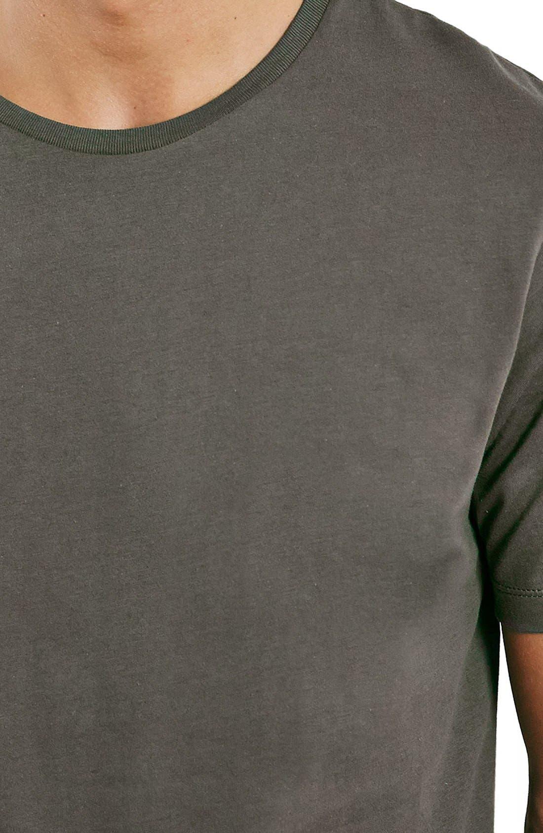 Slim Fit Crewneck T-Shirt,                             Alternate thumbnail 240, color,