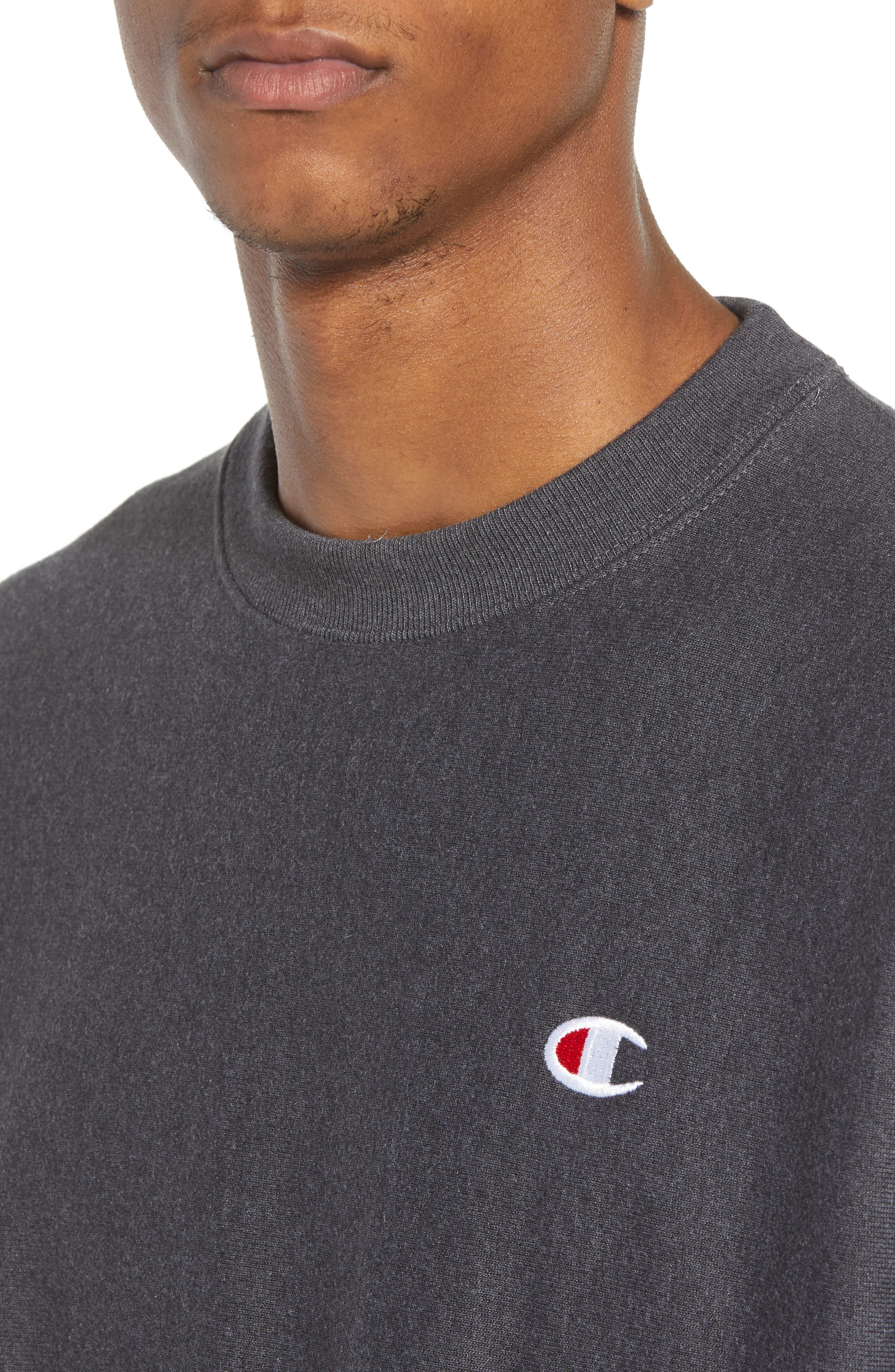 Reverse Weave Sweatshirt,                             Alternate thumbnail 21, color,